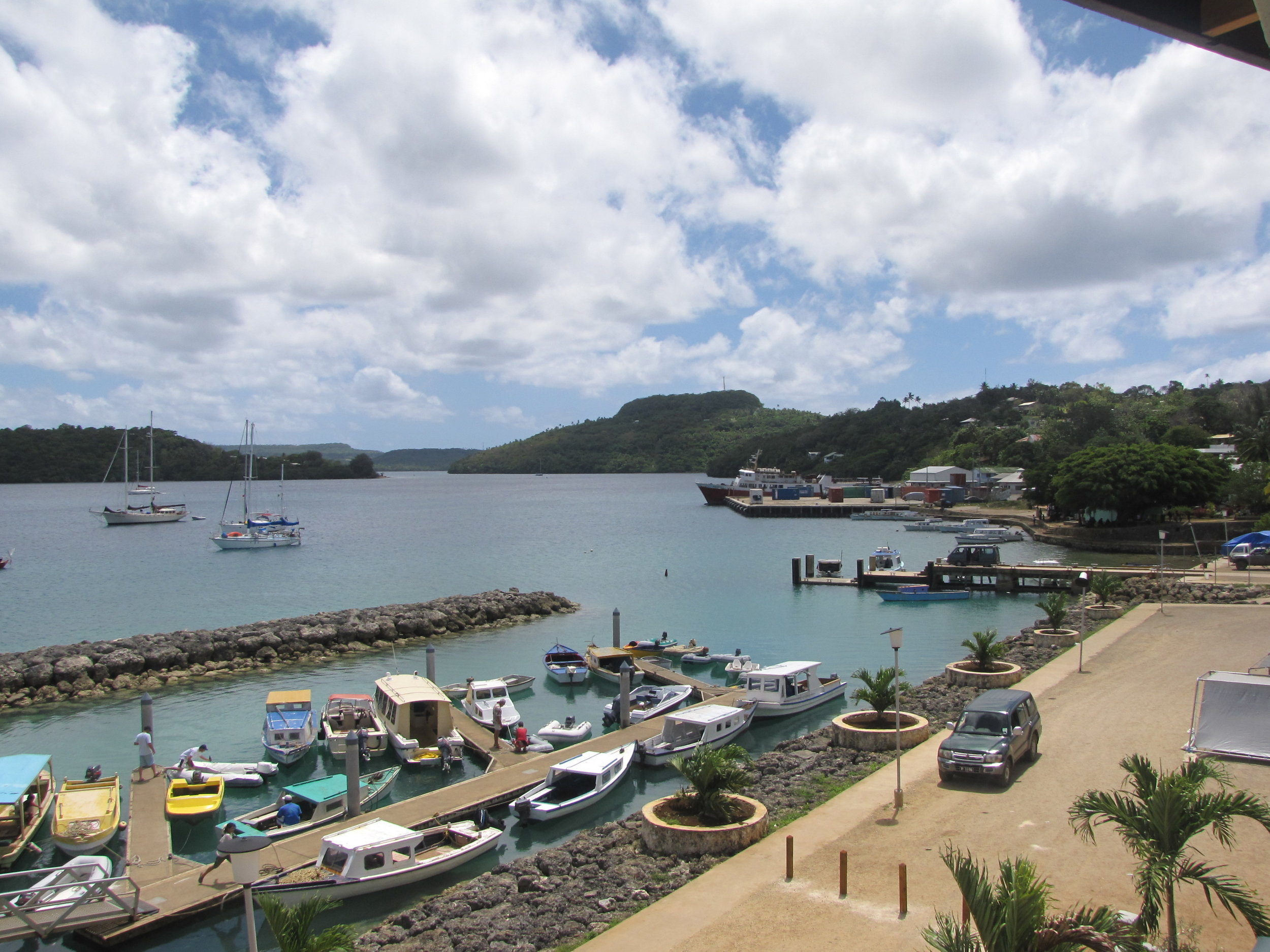 The anchorage in Neiafu was calm, protected and everything we imagined a South Pacific port of call should be.