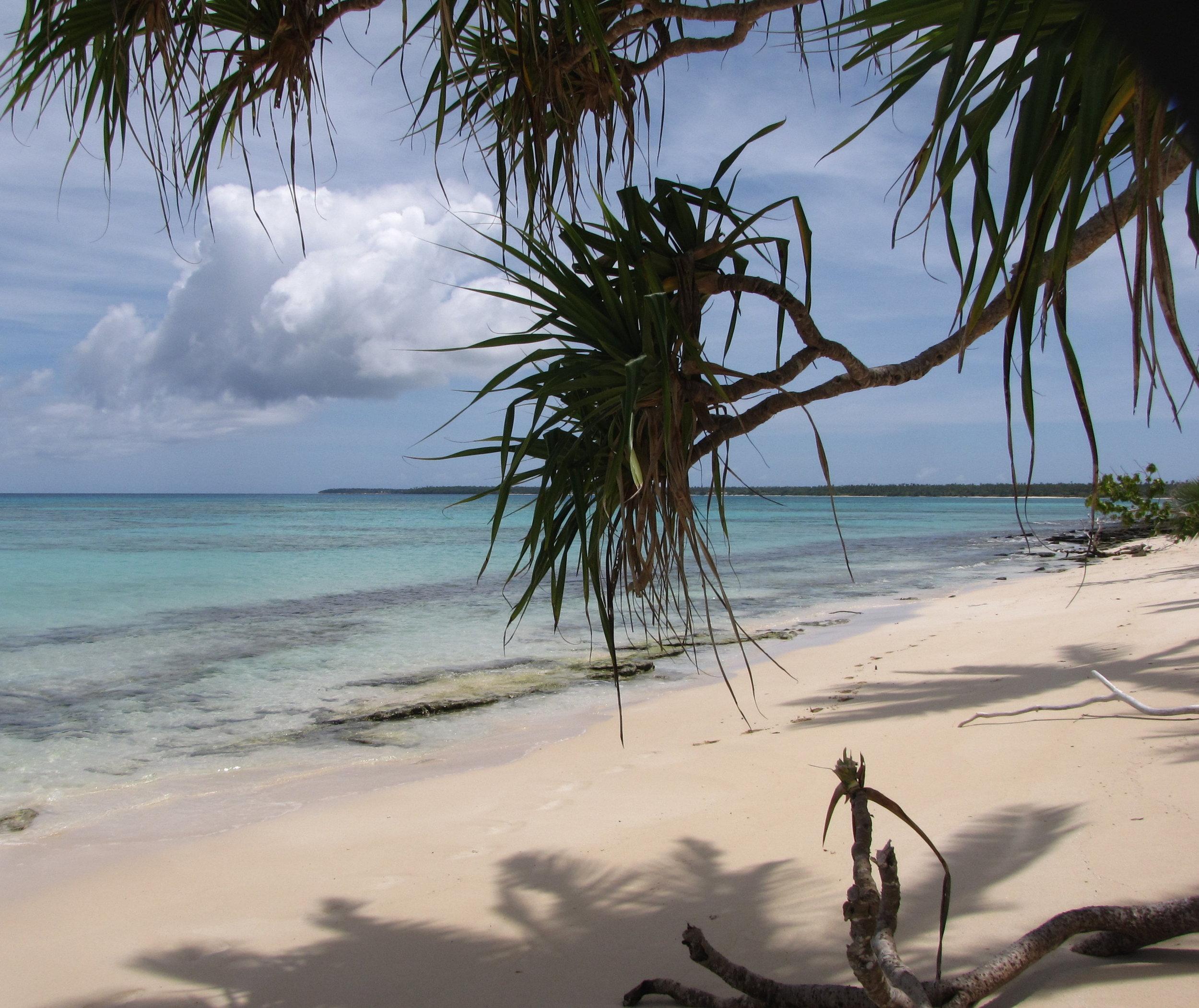 Beautiful Hapa'ai beach