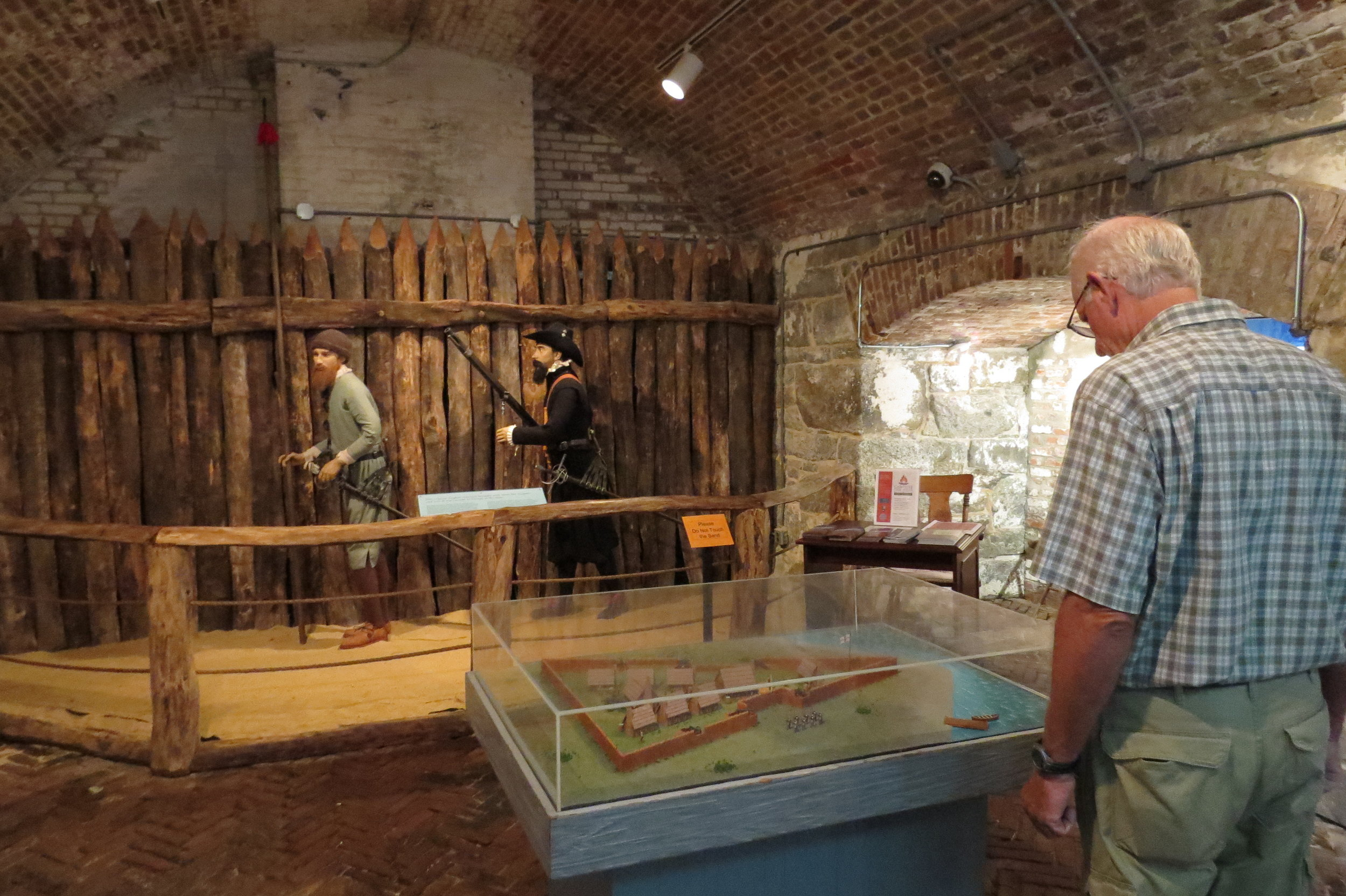 Lots of history and interesting exhibits in the Casemate Museum
