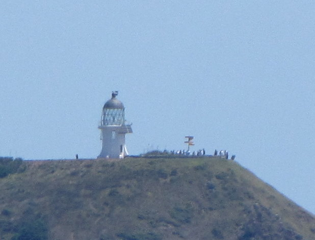 Cape Reinga from sea.