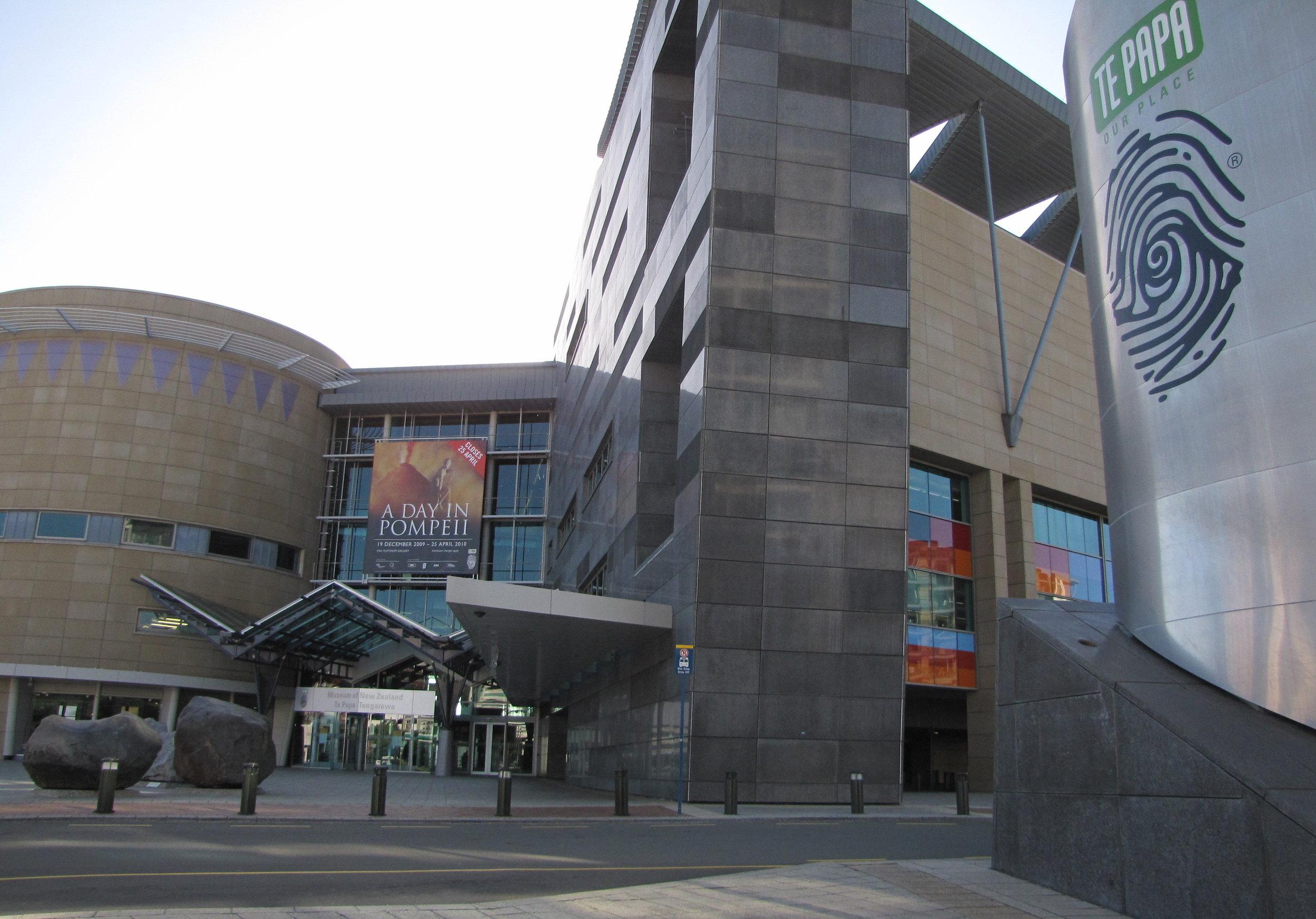 Wellington's world class museum, Te Papa.