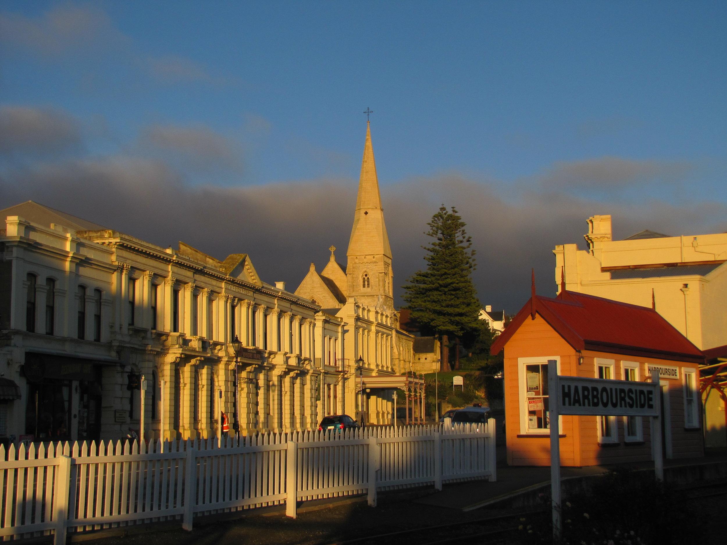 Golden hour in Oamaru