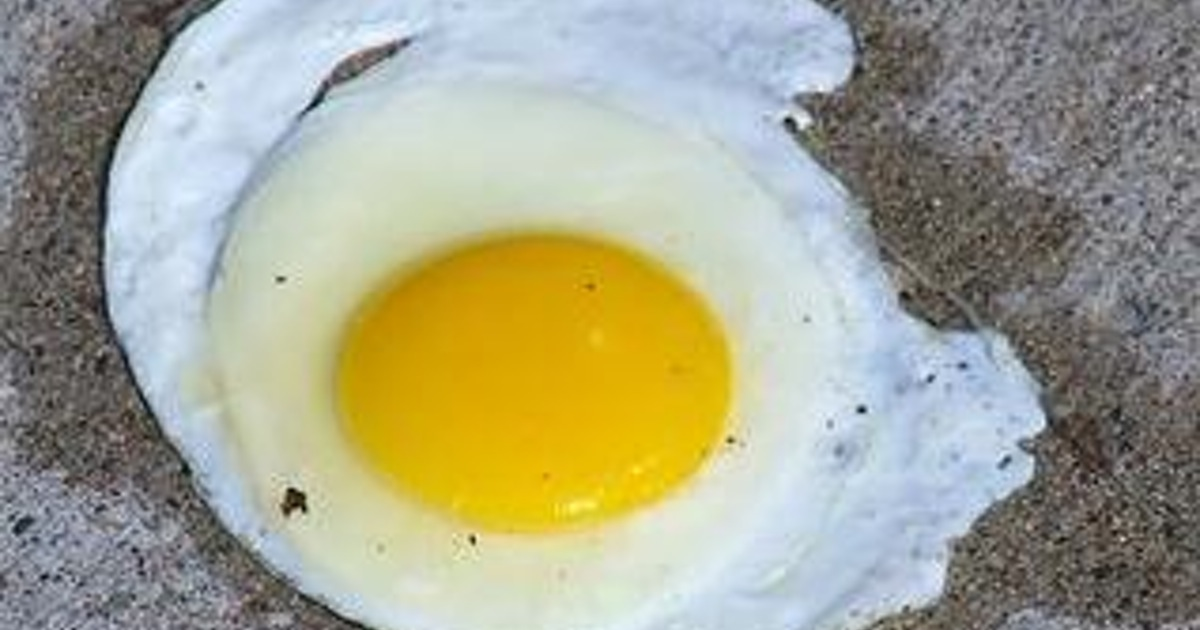 It's been hot enough in Vegas to fry an egg on the sidewalk!