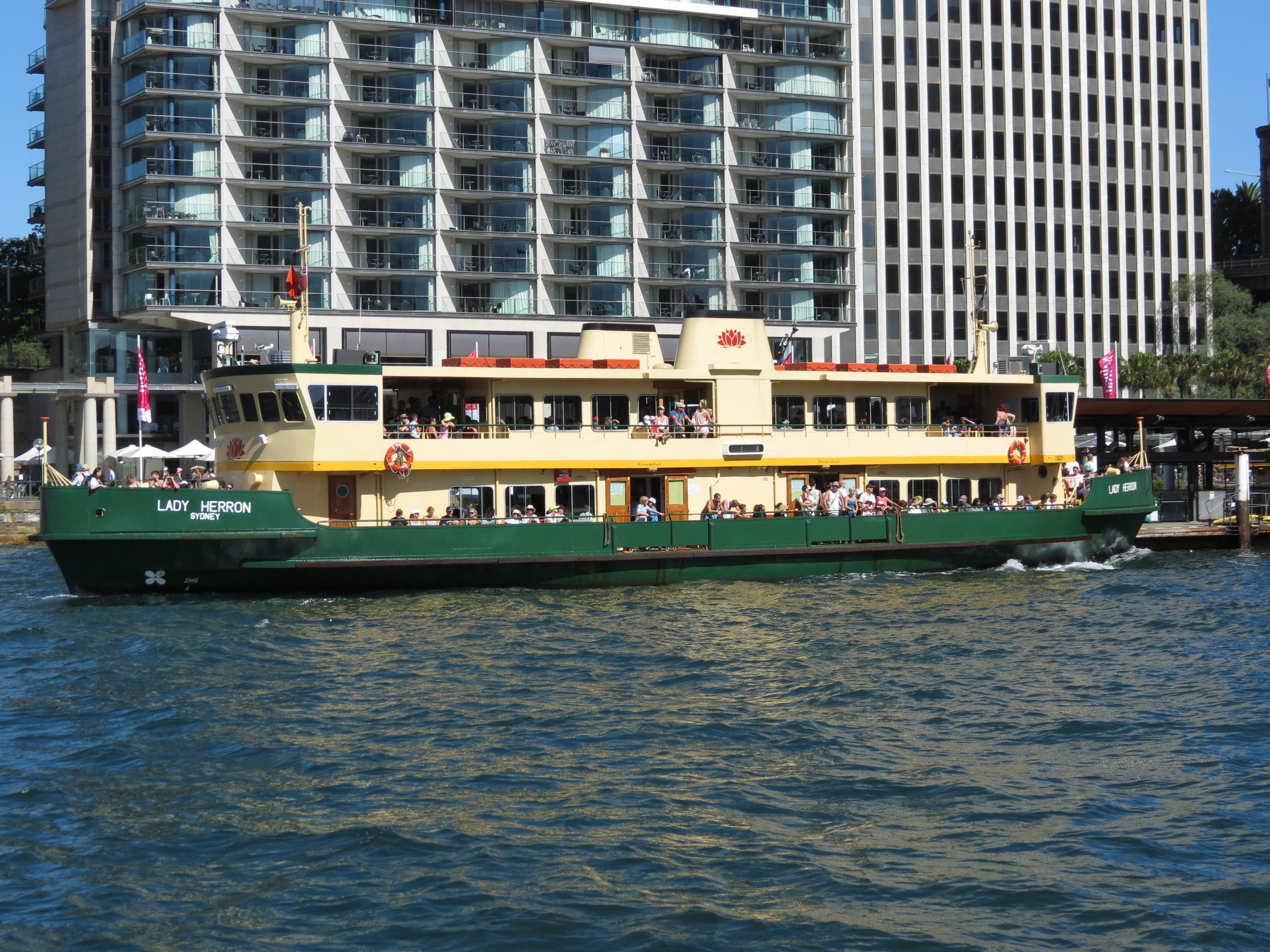 Sydney ferries can take you anywhere.