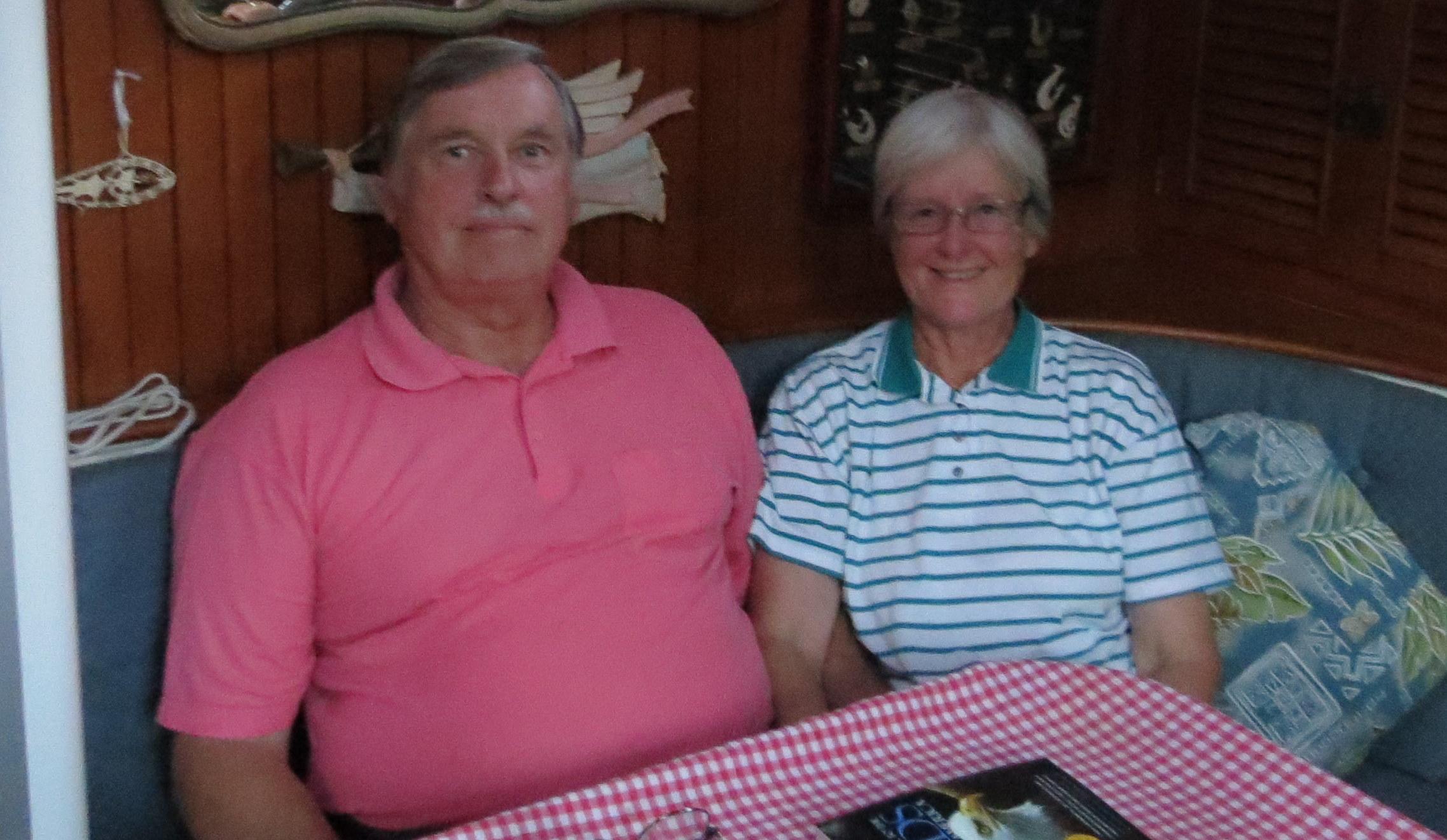 David & Mary, island caretakers