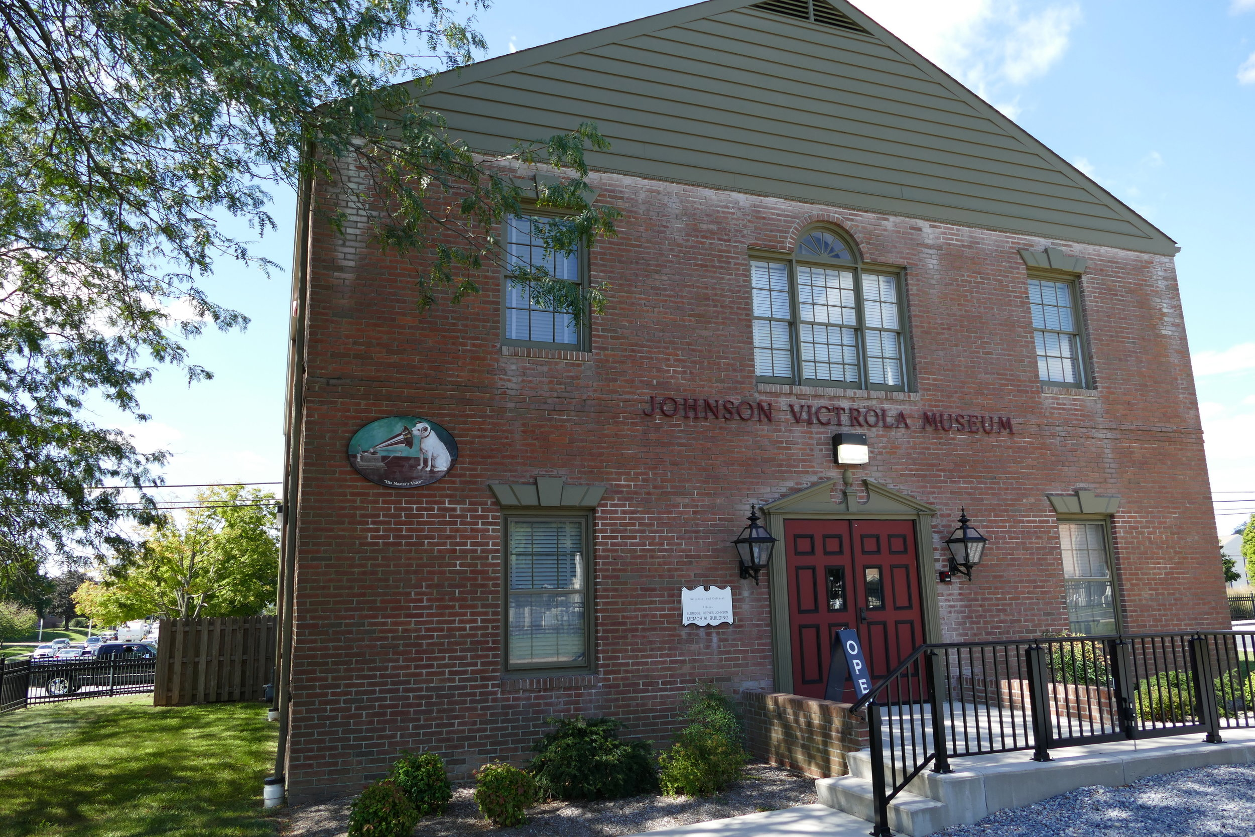 The Johnson Victrola Museum was the initial incentive to visit downtown Dover.