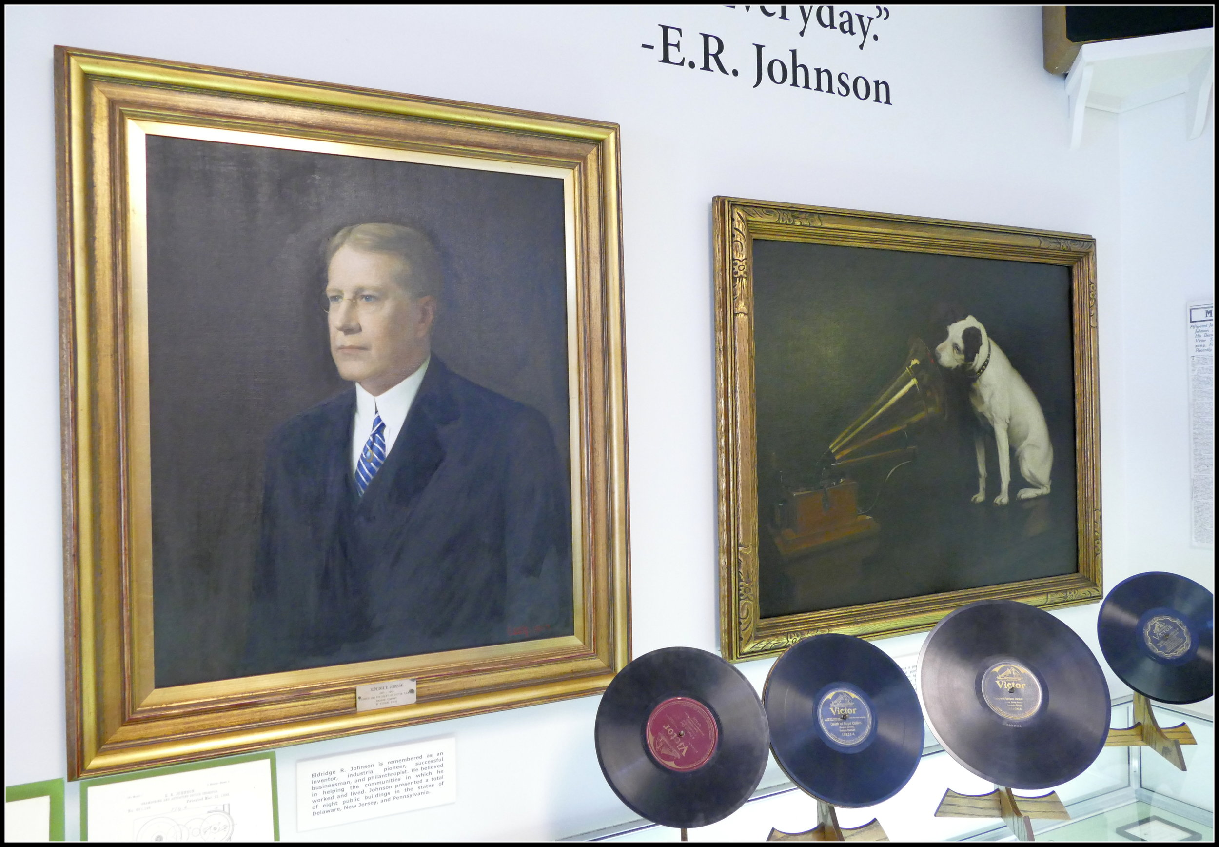 Johnson created a multi-million dollar company which was later sold to RCA Victor.