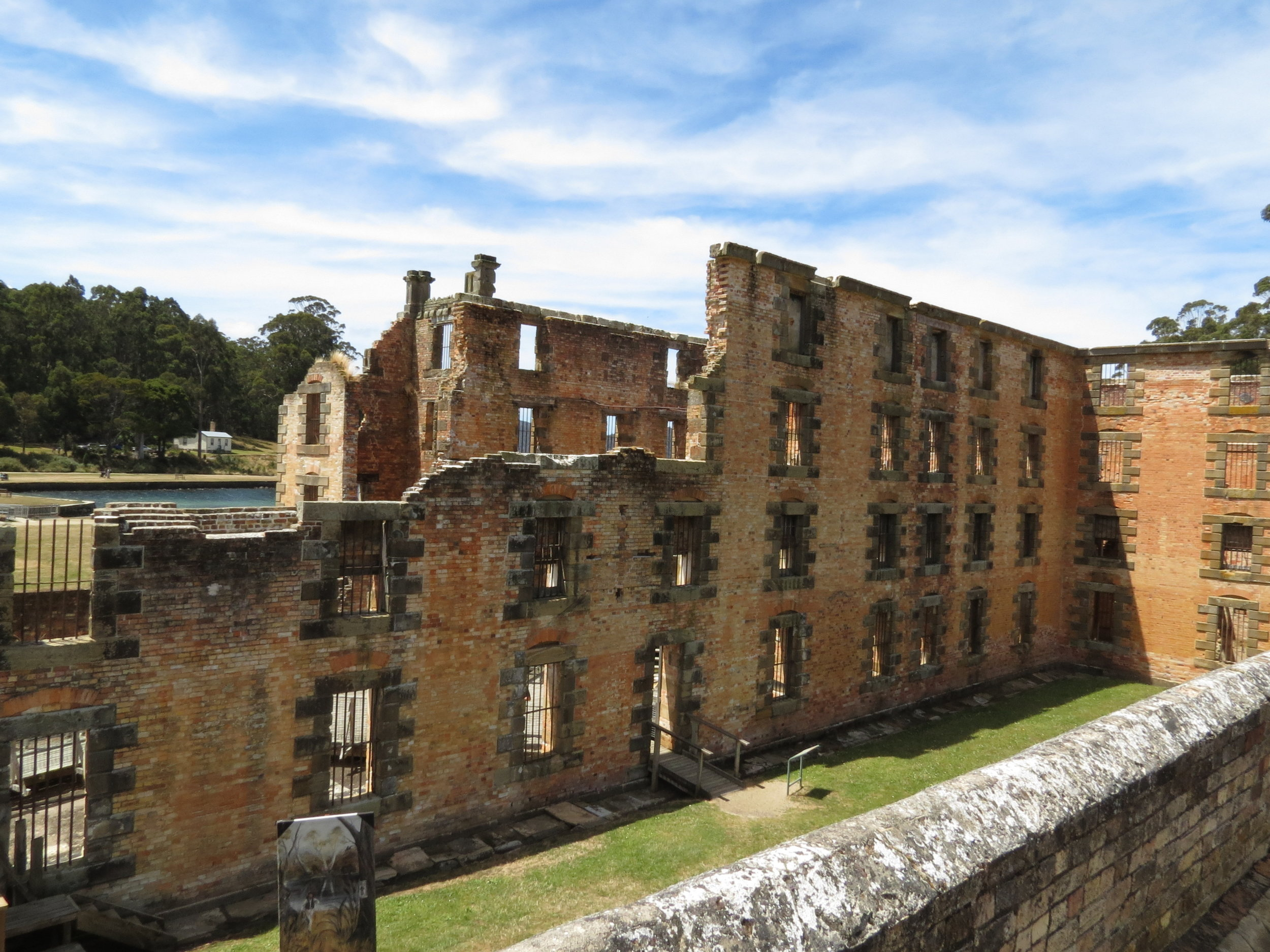 Ruins of prison at Port Arthur World Heritage Site
