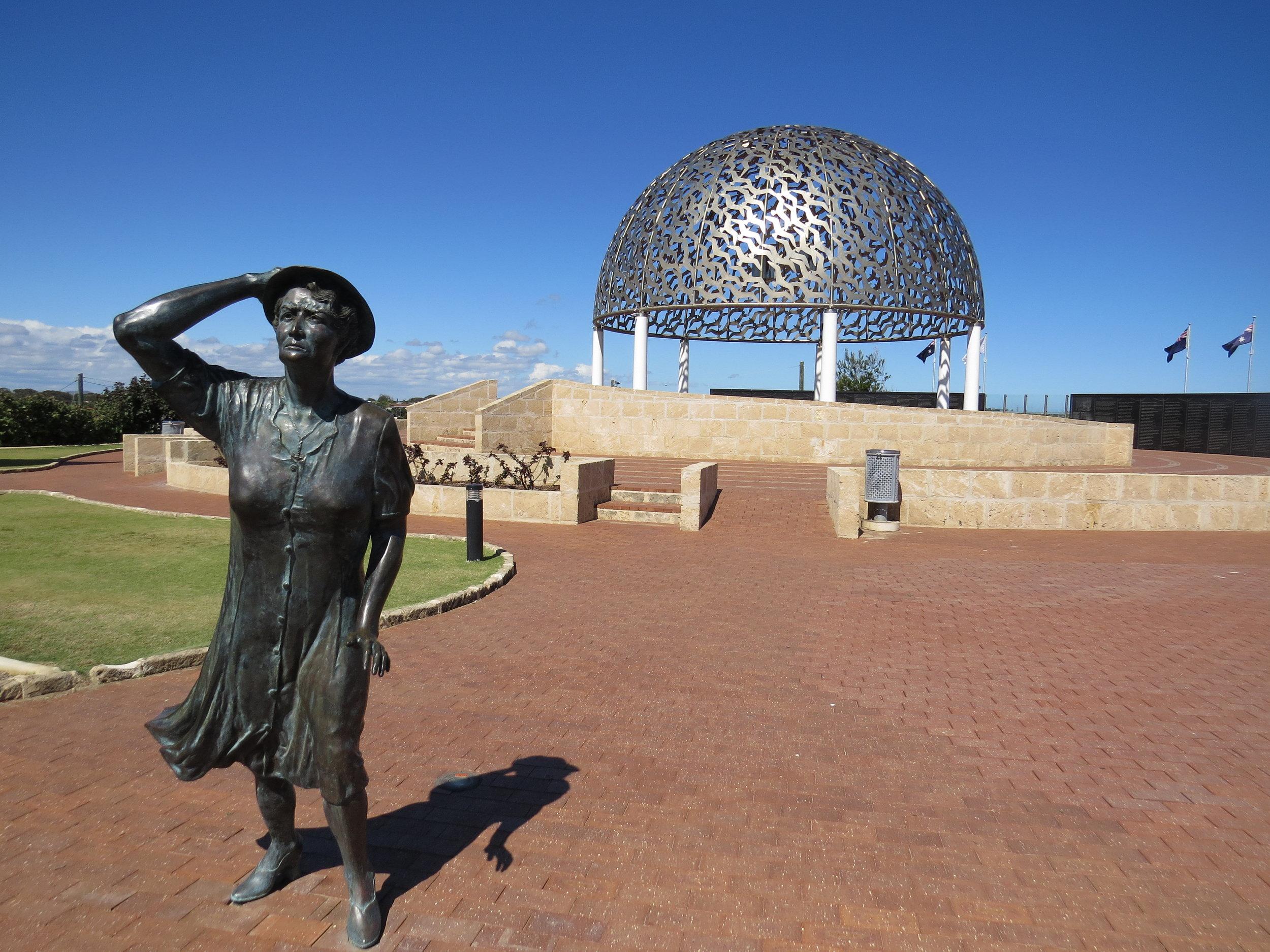 HMAS Sydney Memorial in Geraldton