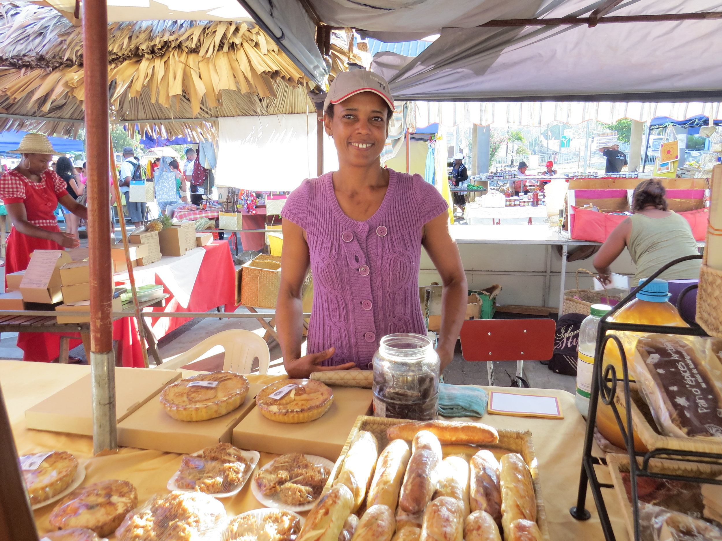 Lively marketplace