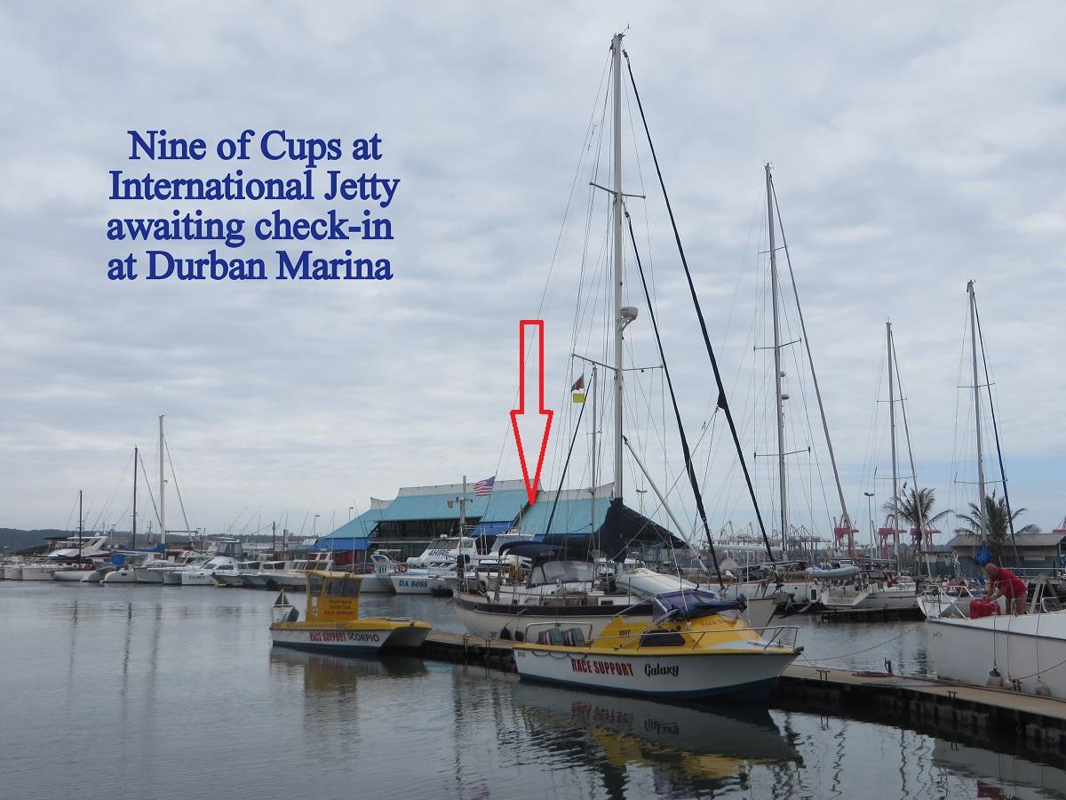 Whew ... Durban at last!