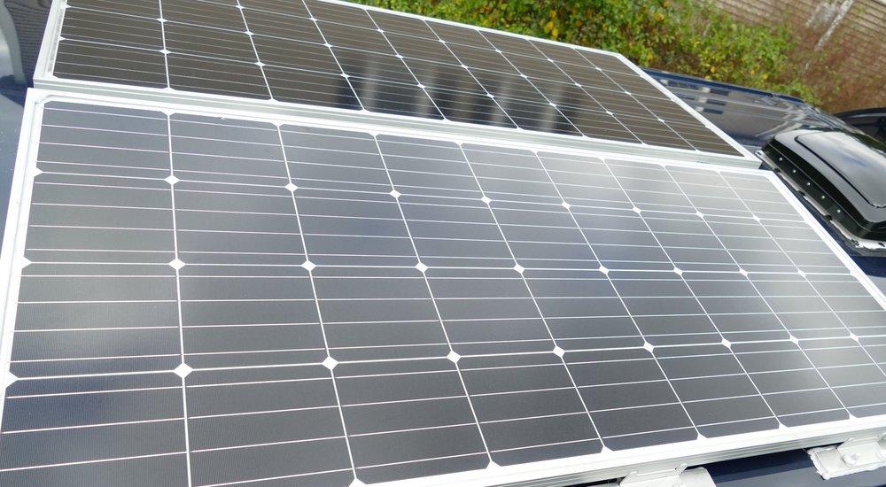 Mounting solar panels