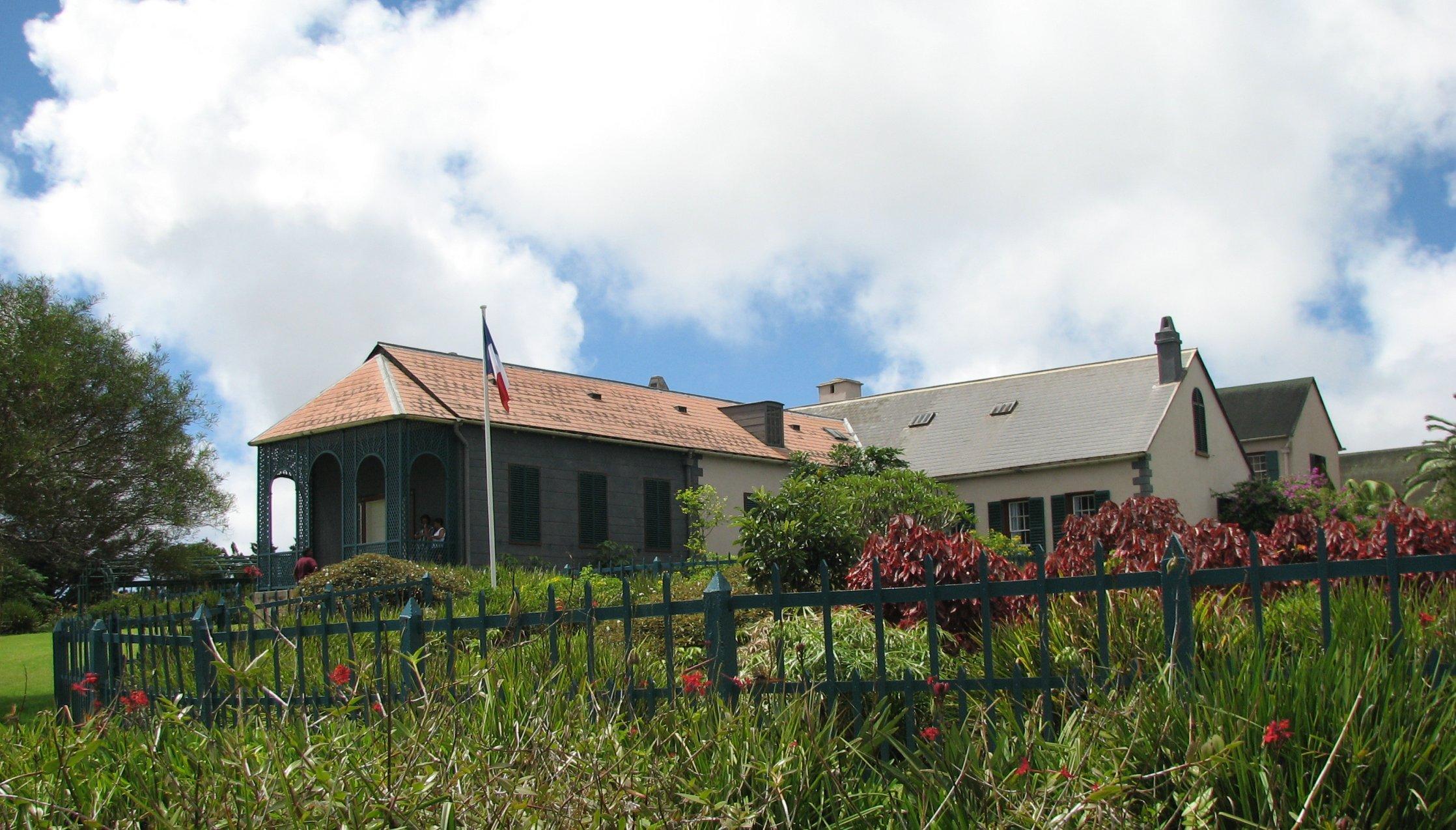 Napoleon's home in Longwood