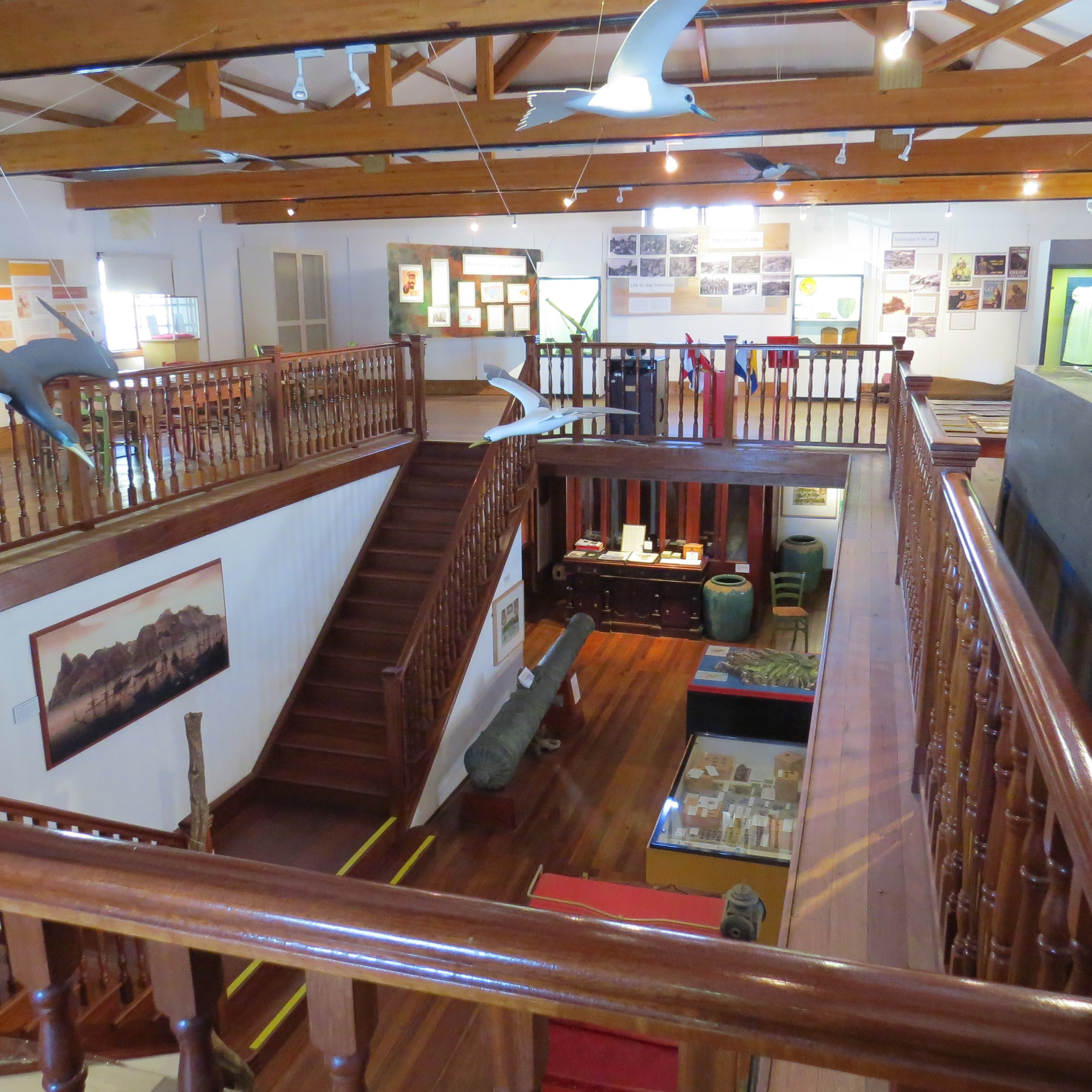 St Helena Island museum