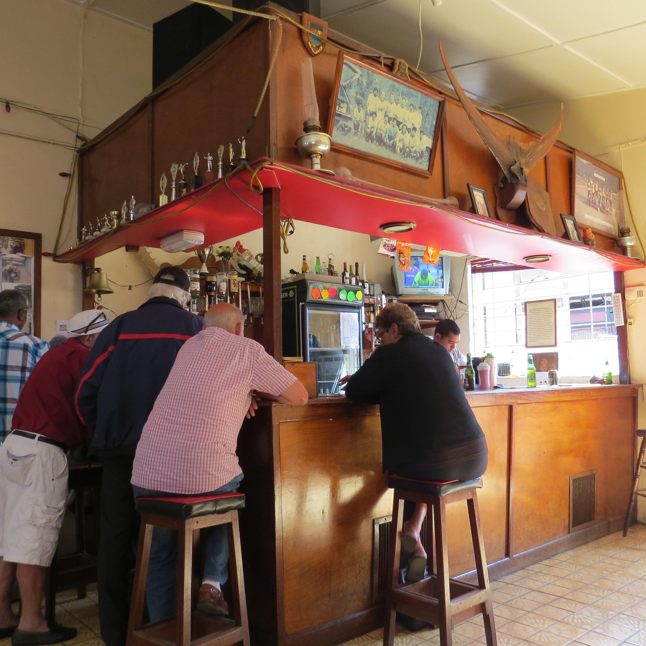 A pint at the Standard Pub