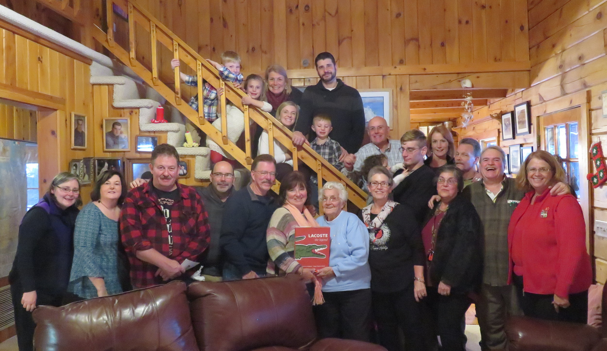 Cousins Christmas 2017 - David's taking the picture!
