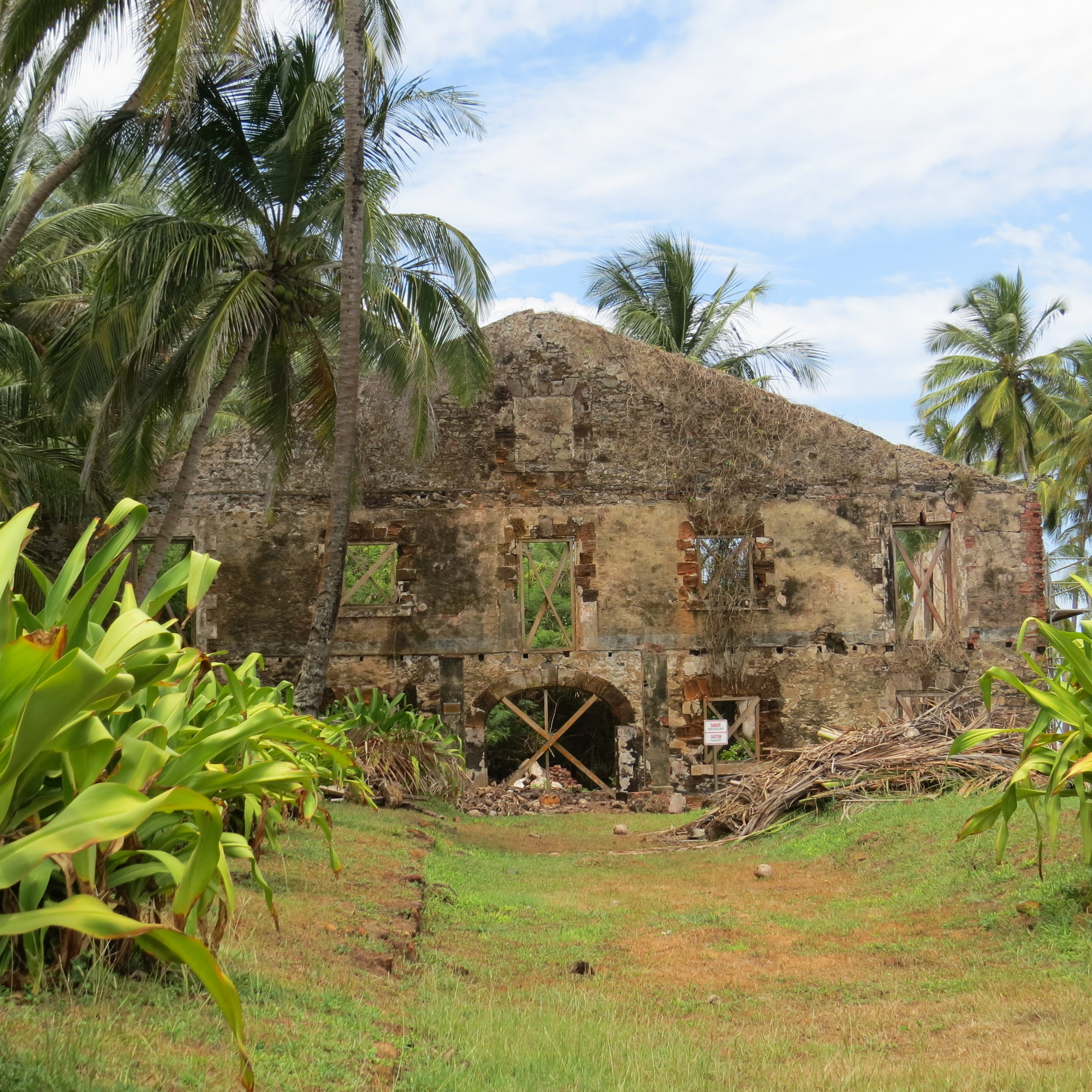 Ruins at Ile Royale