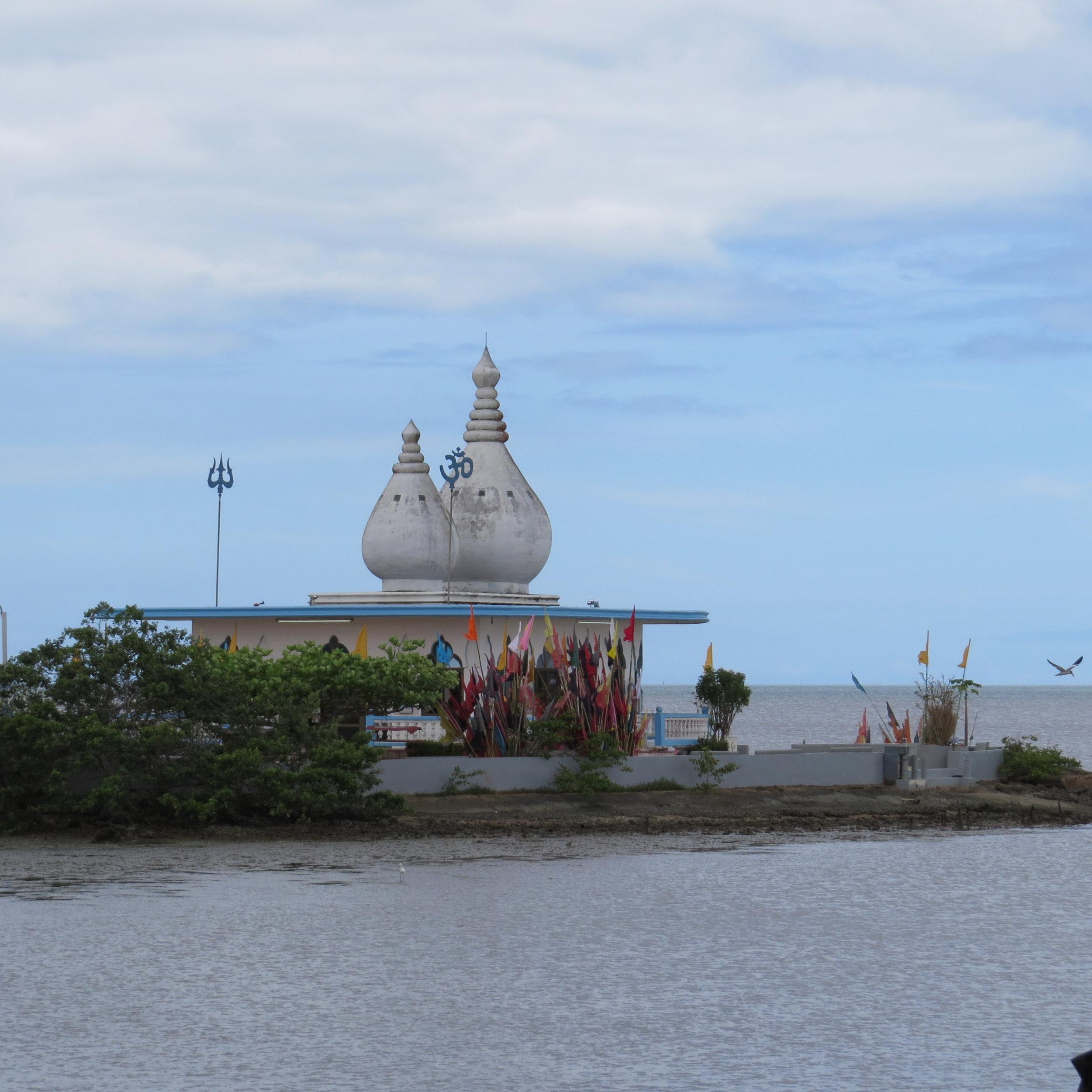 Hindu Temple in the Sea