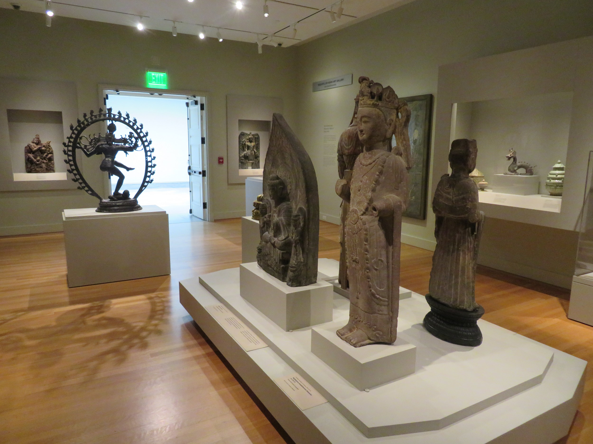 Asian gallery exhibits