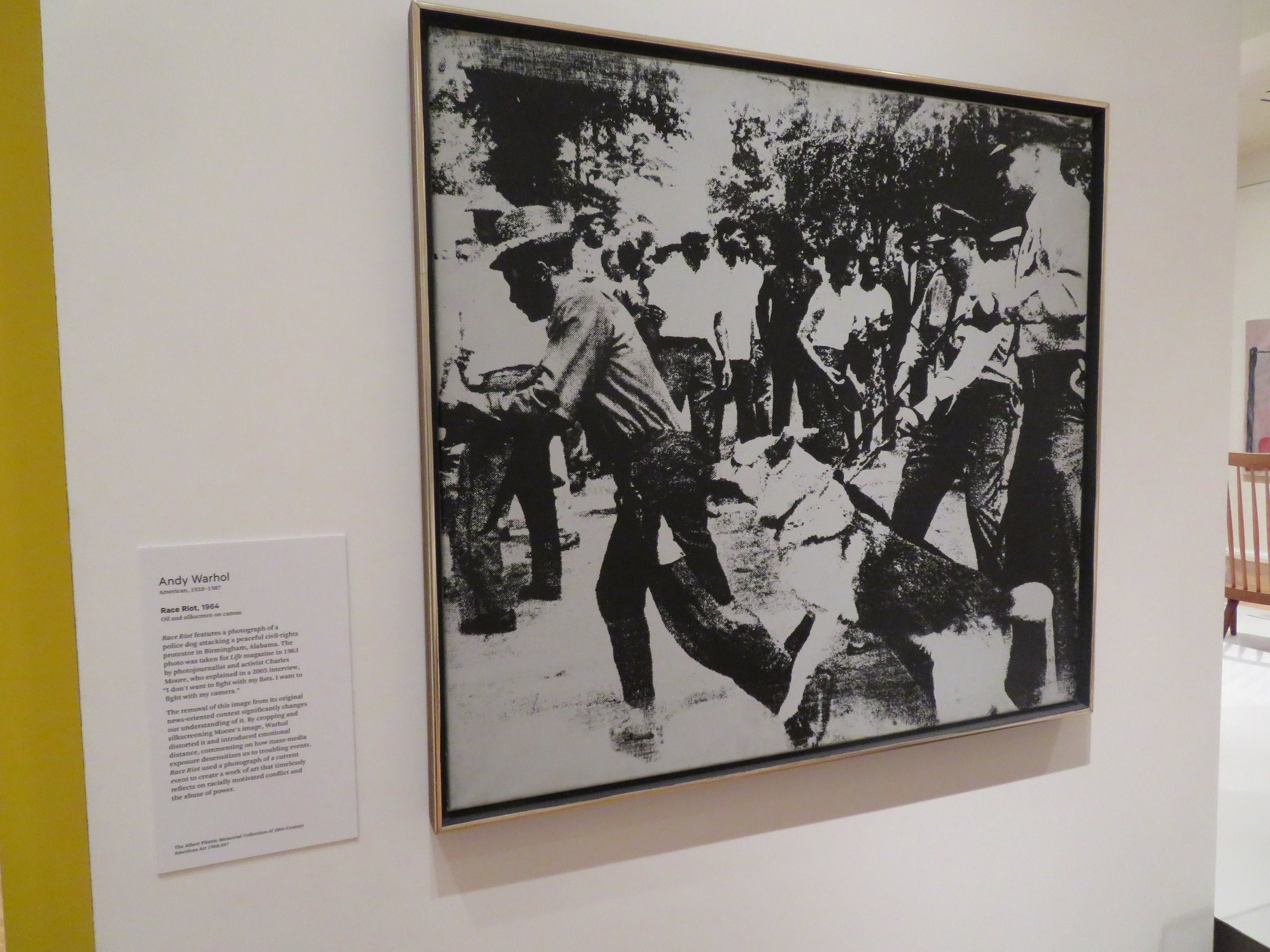 "Andy Warhol ""Race Riot"" - 1964"