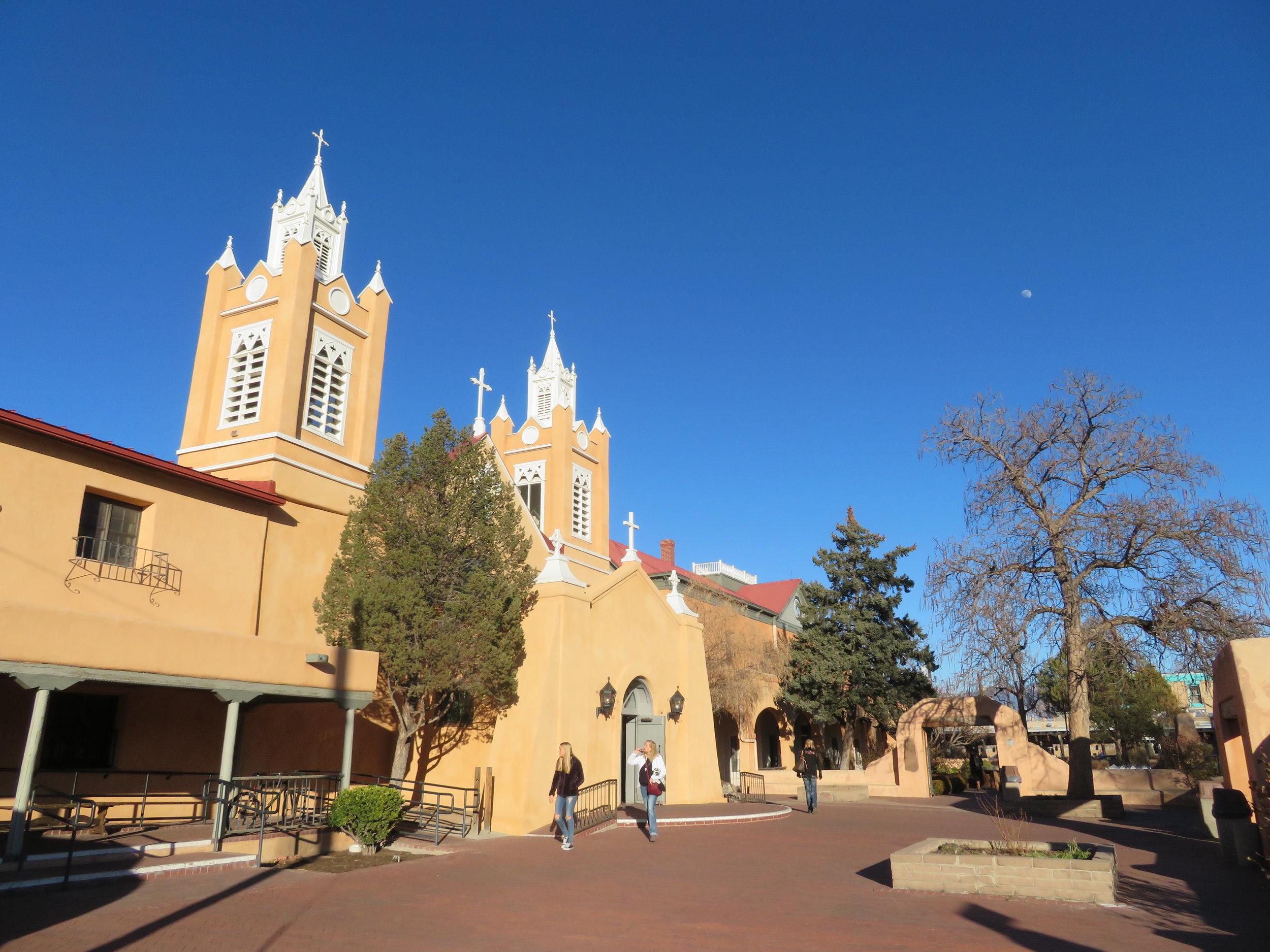 St. Felipe de Neri on the Old Town Plaza