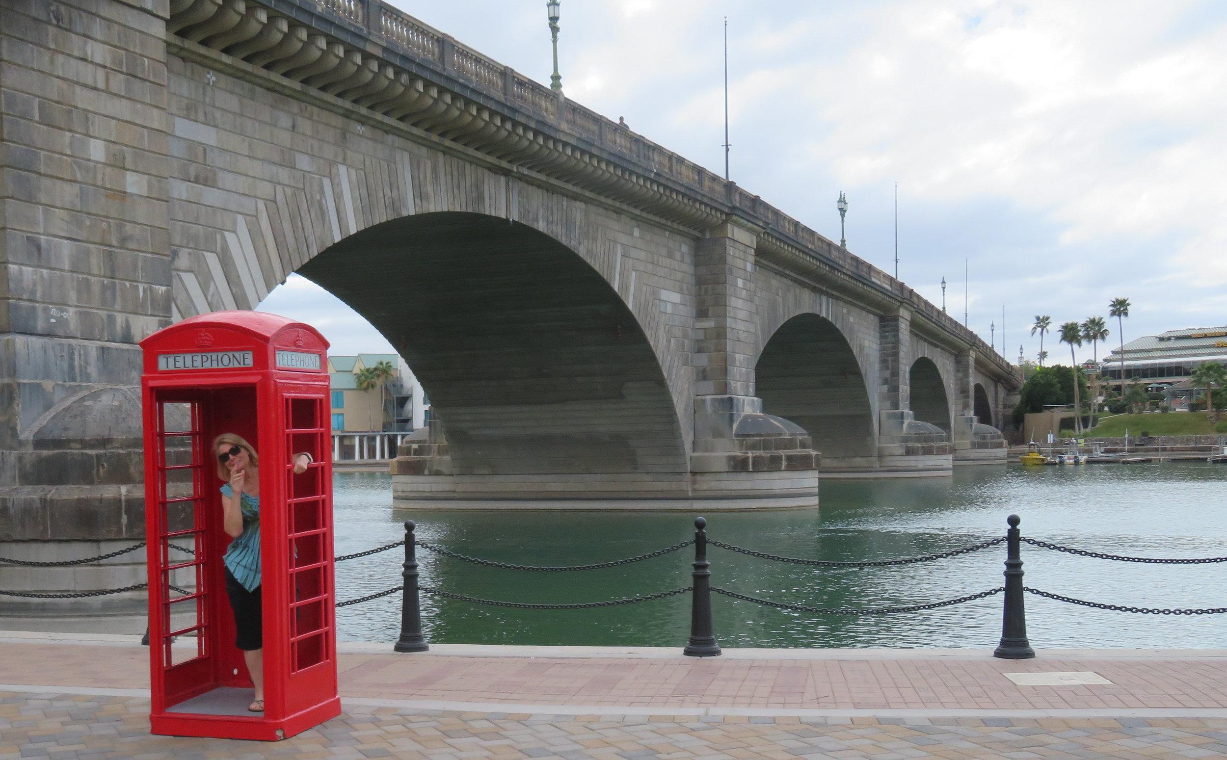 A quick stop in Lake Havasu City to view London Bridge.This one ain't fallin' down.