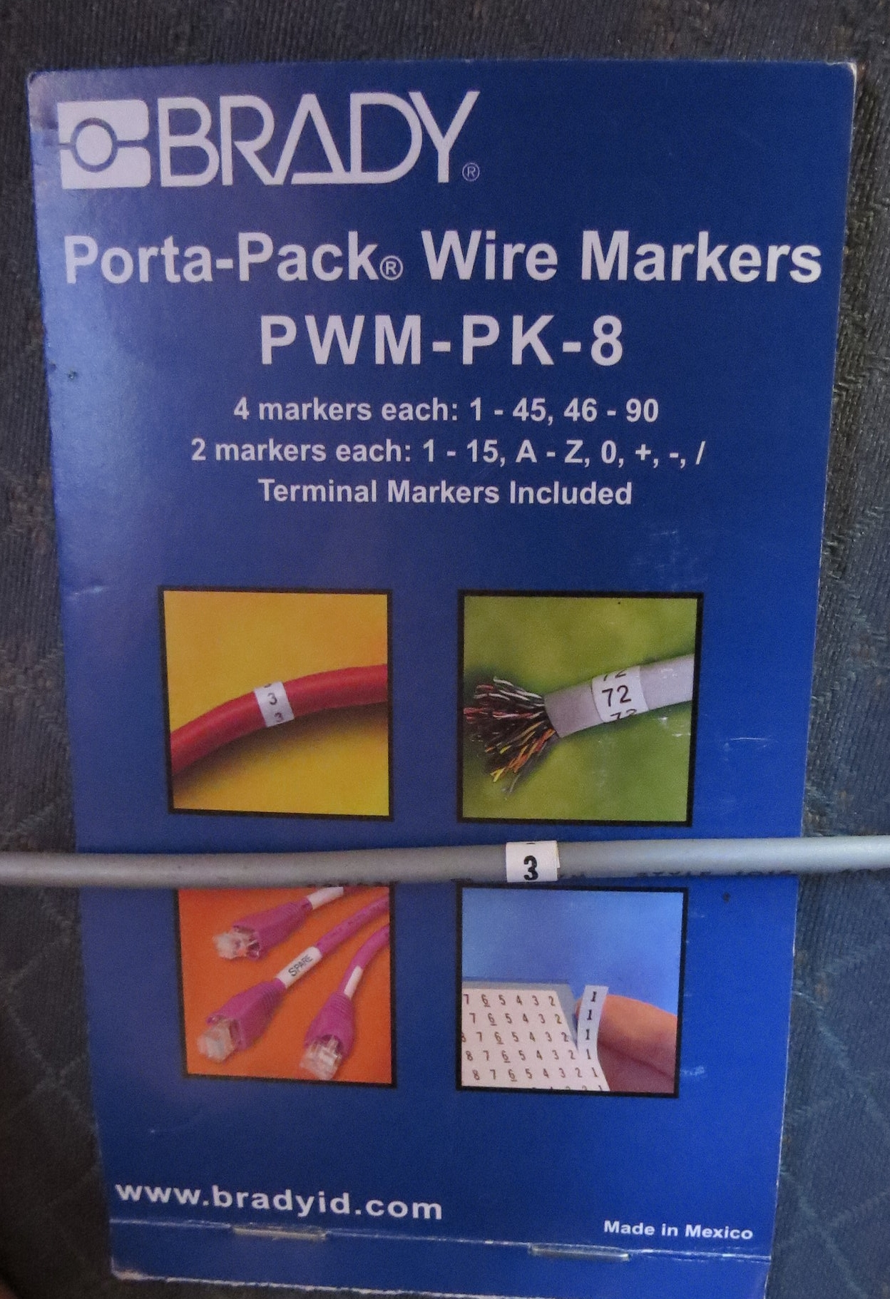 Book of Wire Labels