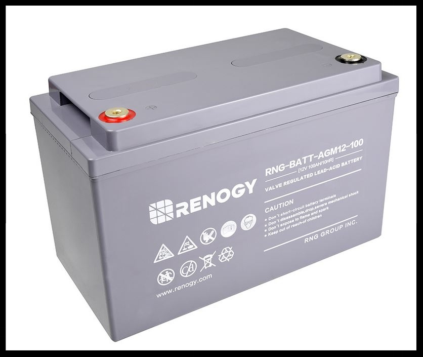 Renogy 105 ah AGM Battery