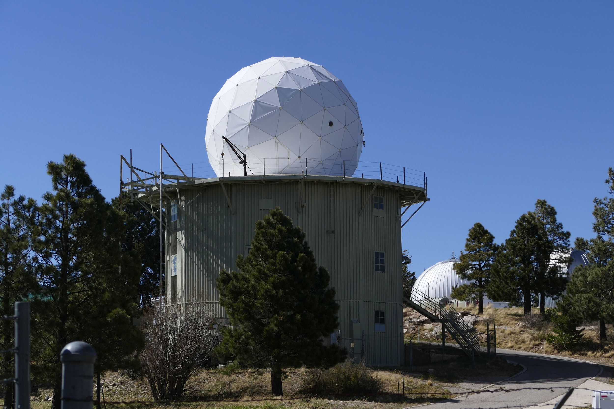 Sky Center Observatory at the top of Mount Lemmon.