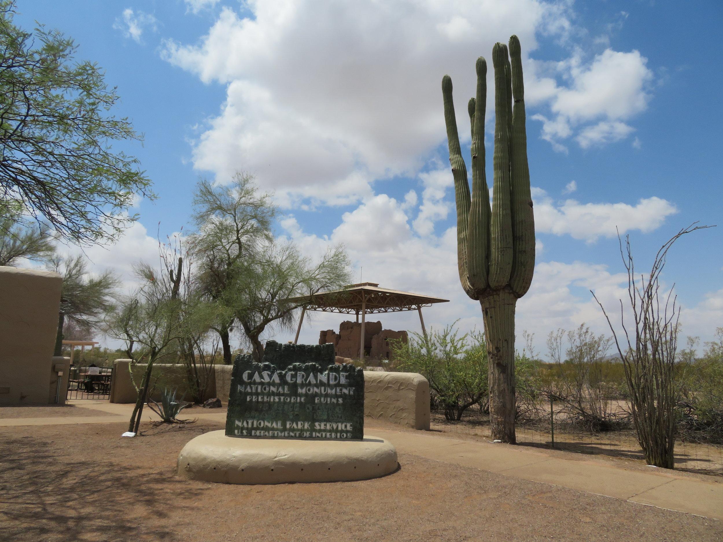 Casa Grande Ruins National Monument  - Coolidge, AZ - May 2018