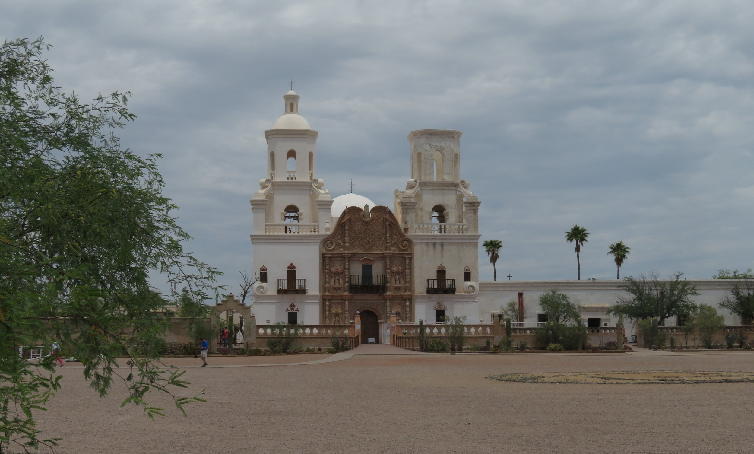 Mission San Xavier del Bac is considered the finest example of Mexican Baroque architecture in the USA.