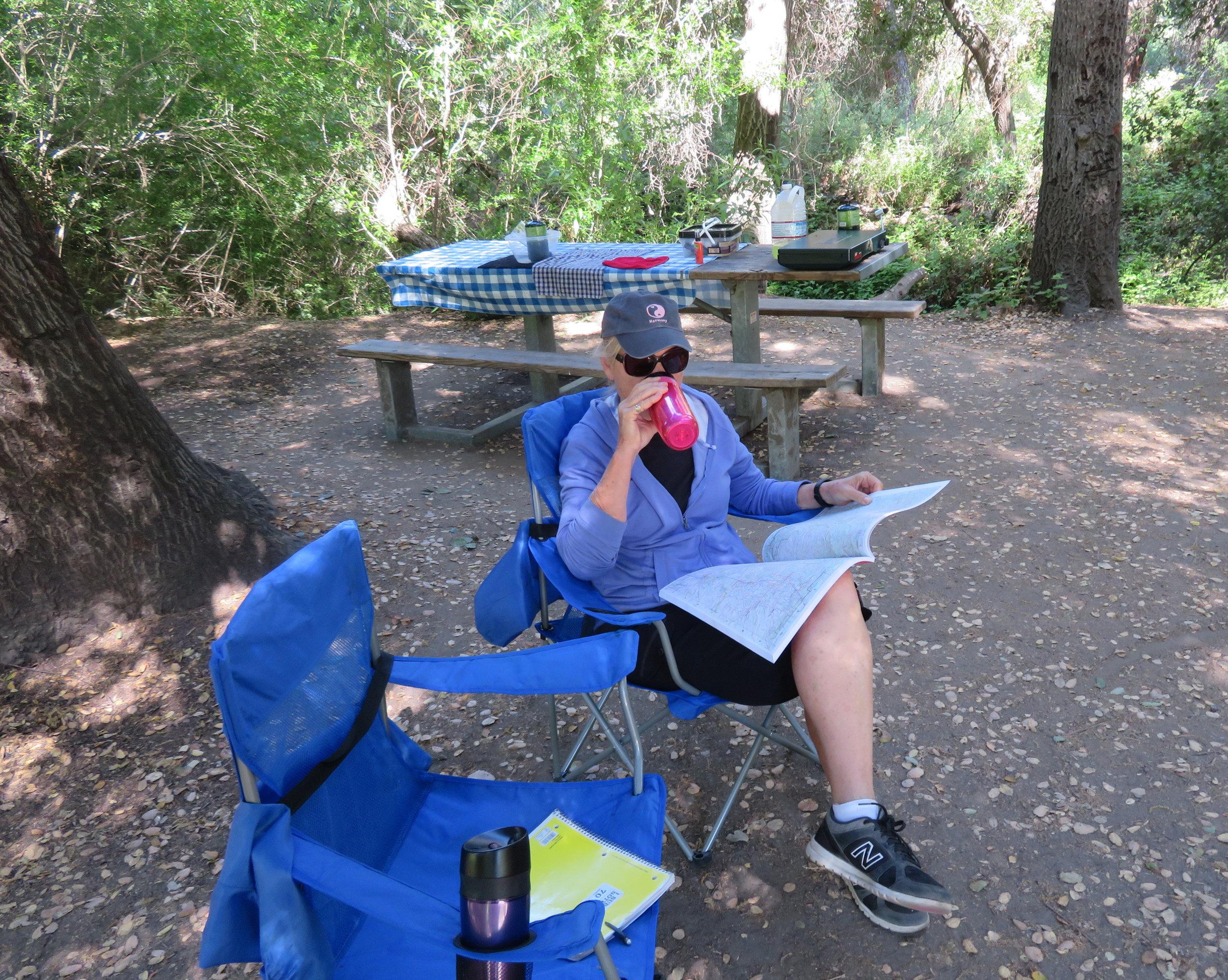 creaturecomforts_morning joe at the campground.JPG