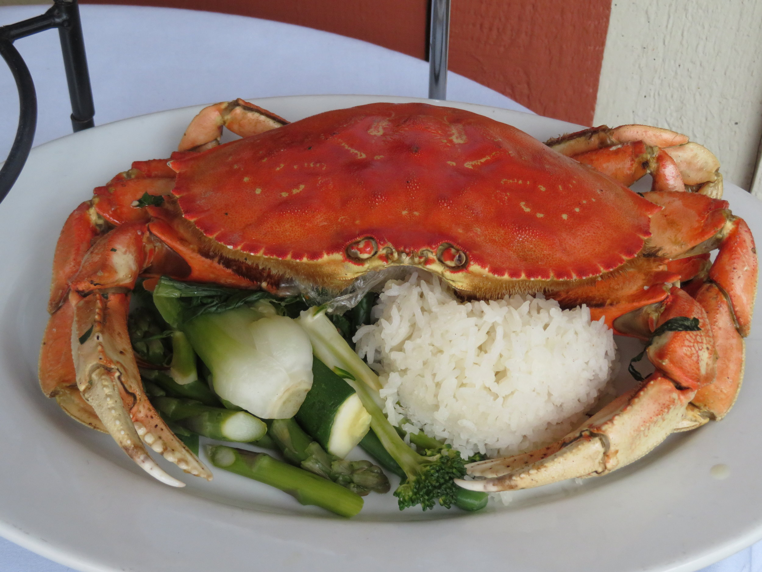 Dungeness crab is a Fishhopper specialty