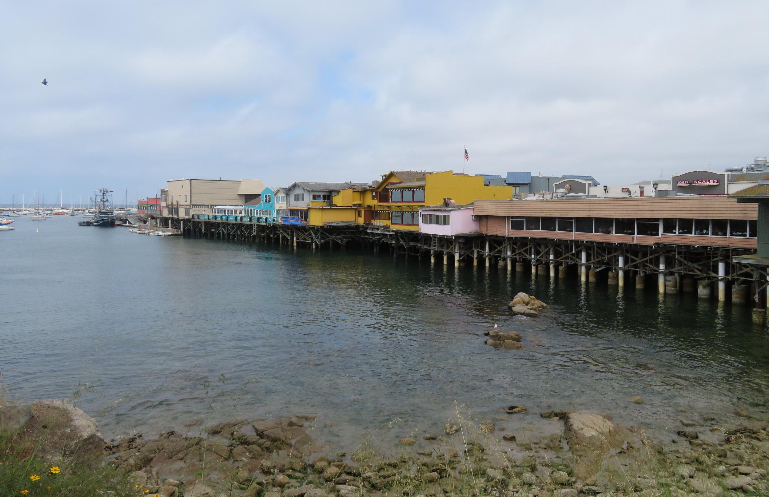 Fisherman's Wharf from the Coastal Trail