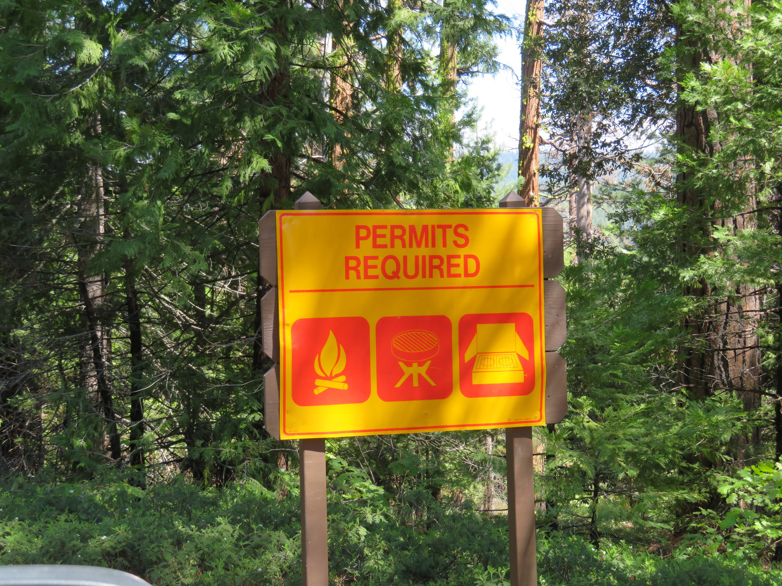 A fire permit is required in many places
