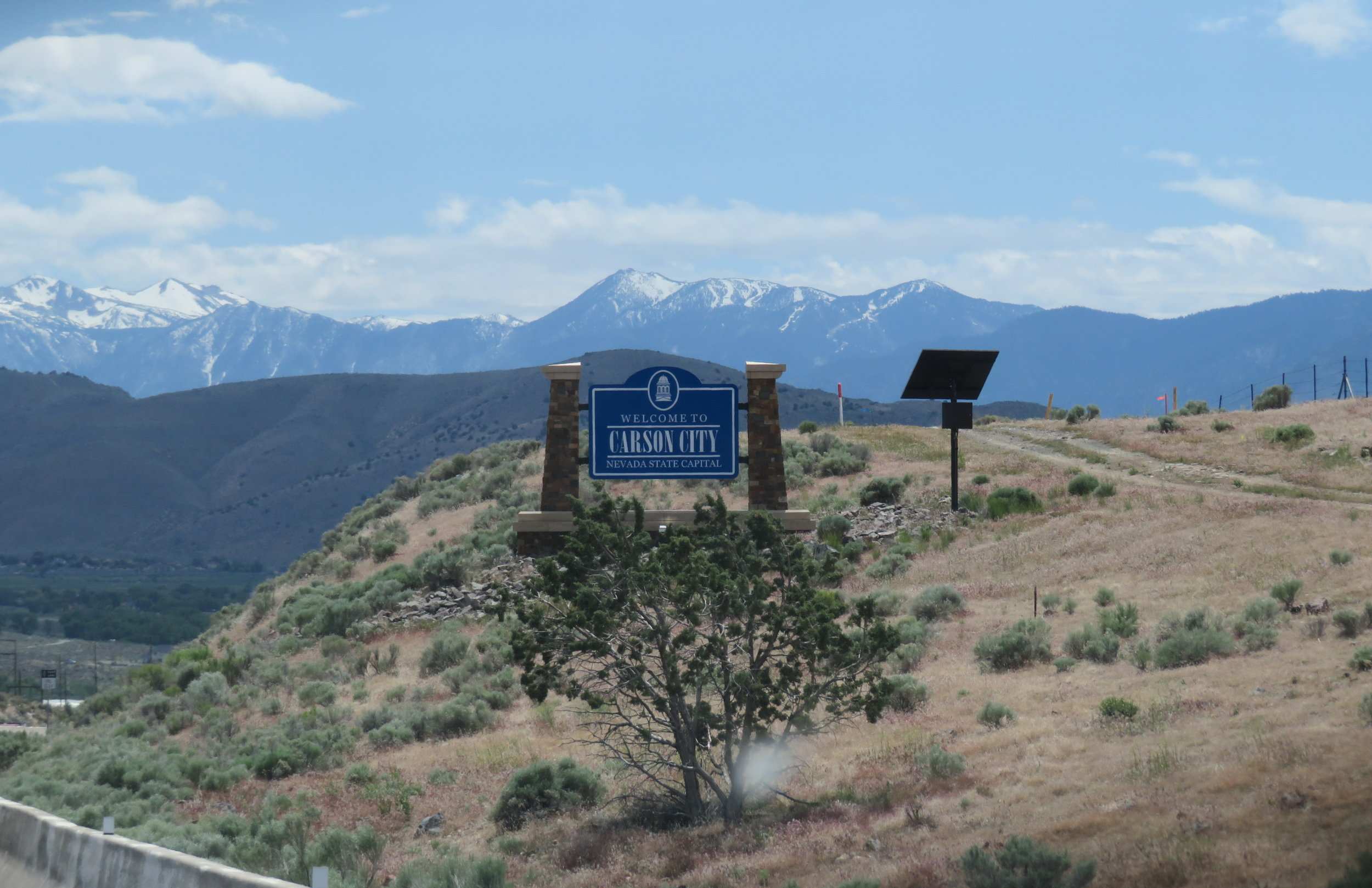 Welcome to Carson City, Nevada