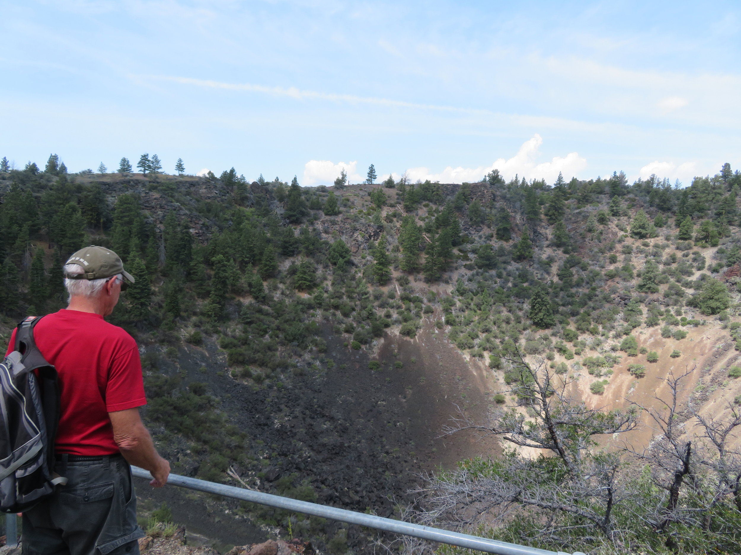 A look into Mammoth Crater