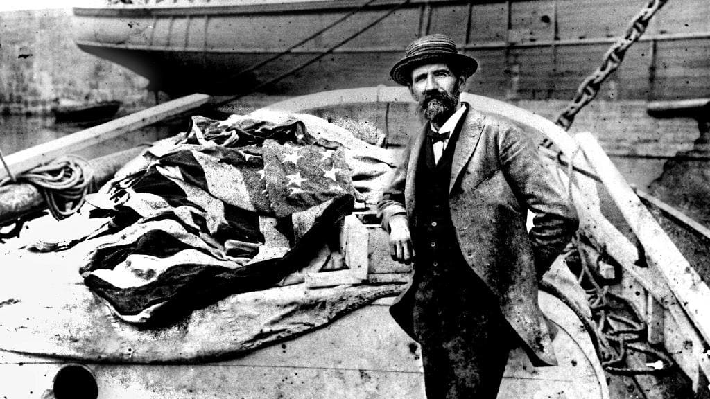 Joshua Slocum - First man to sail solo around the world