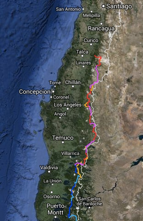 The Greater Patagonia Trail