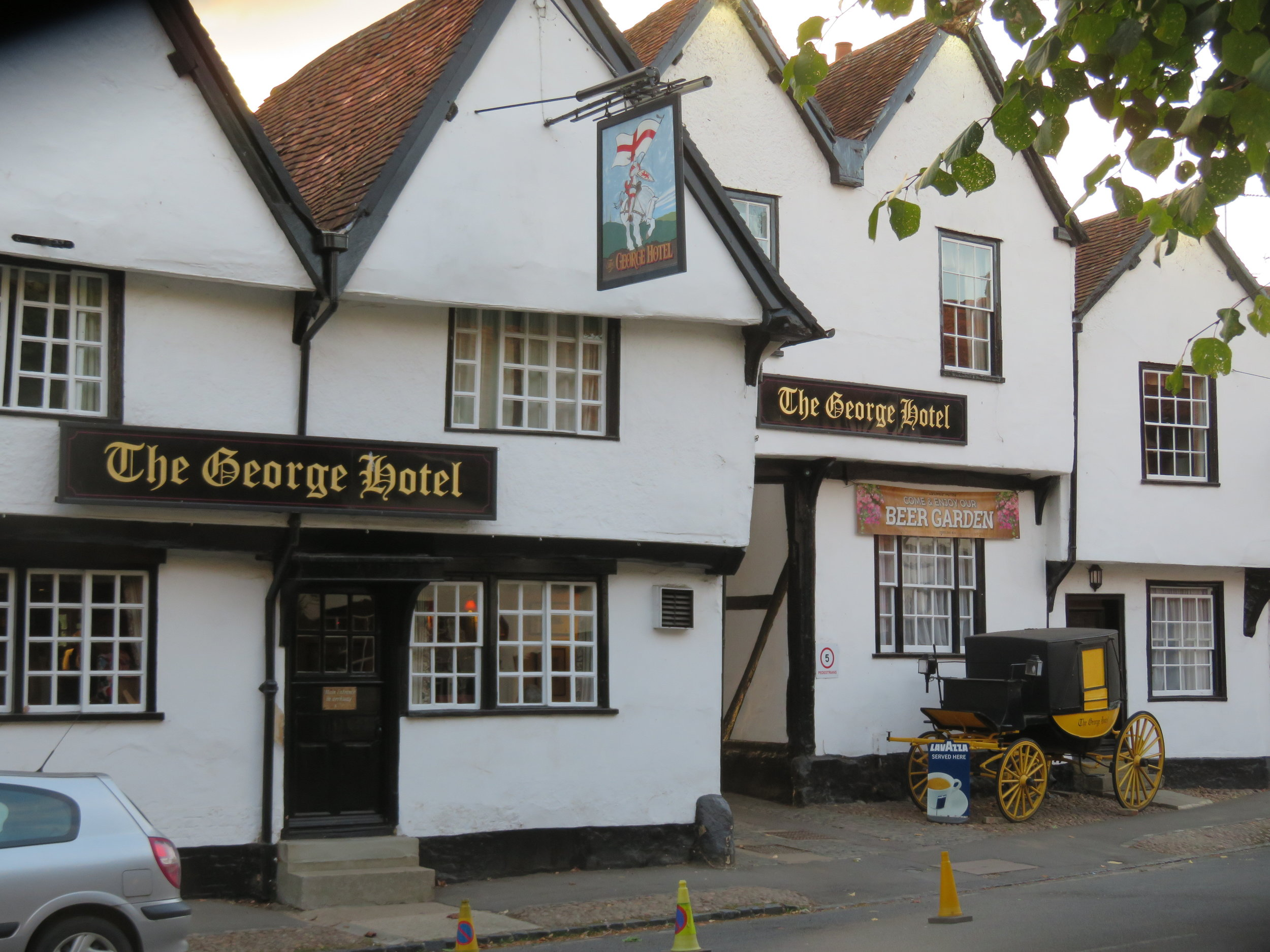 The George, a 15th century coaching inn