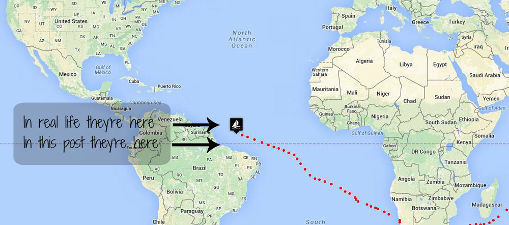 Days 15-17 Atlantic Passage