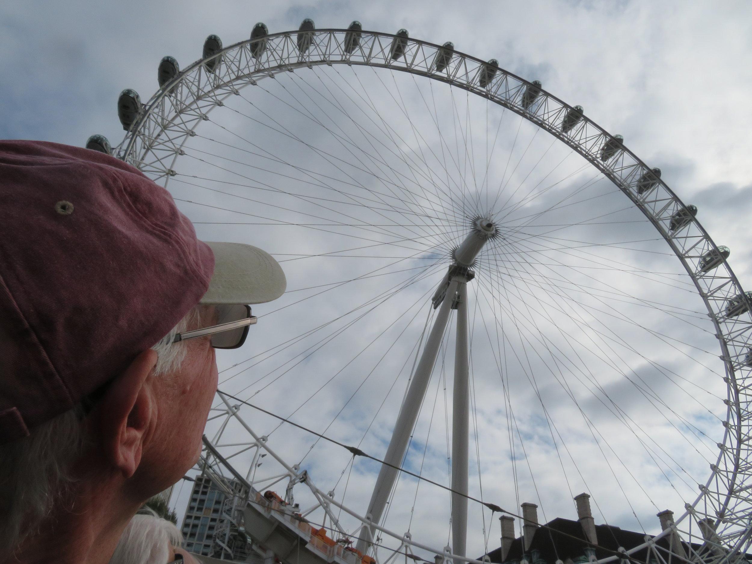 The London Eye is London's iconic giant ferris wheel.