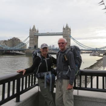 Tower Bridge to Putney Bridge to Richmond Bridge  … through downtown London past well-known landmarks, over bridges, under bridges, around bridges.