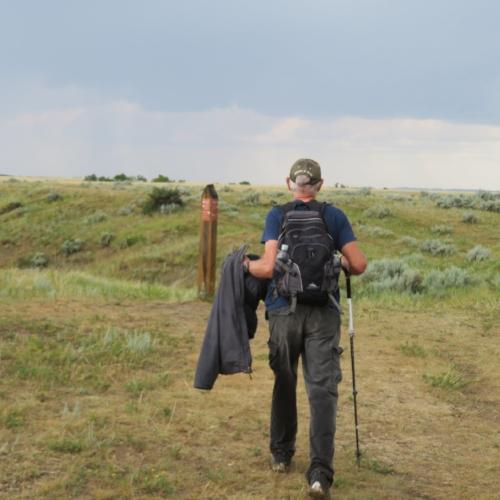A Walk in Teddy Roosevelt National Park  A short trek in North Dakota's gem of a national park … A river crossing, bison, pronghorns, wild horses and more.