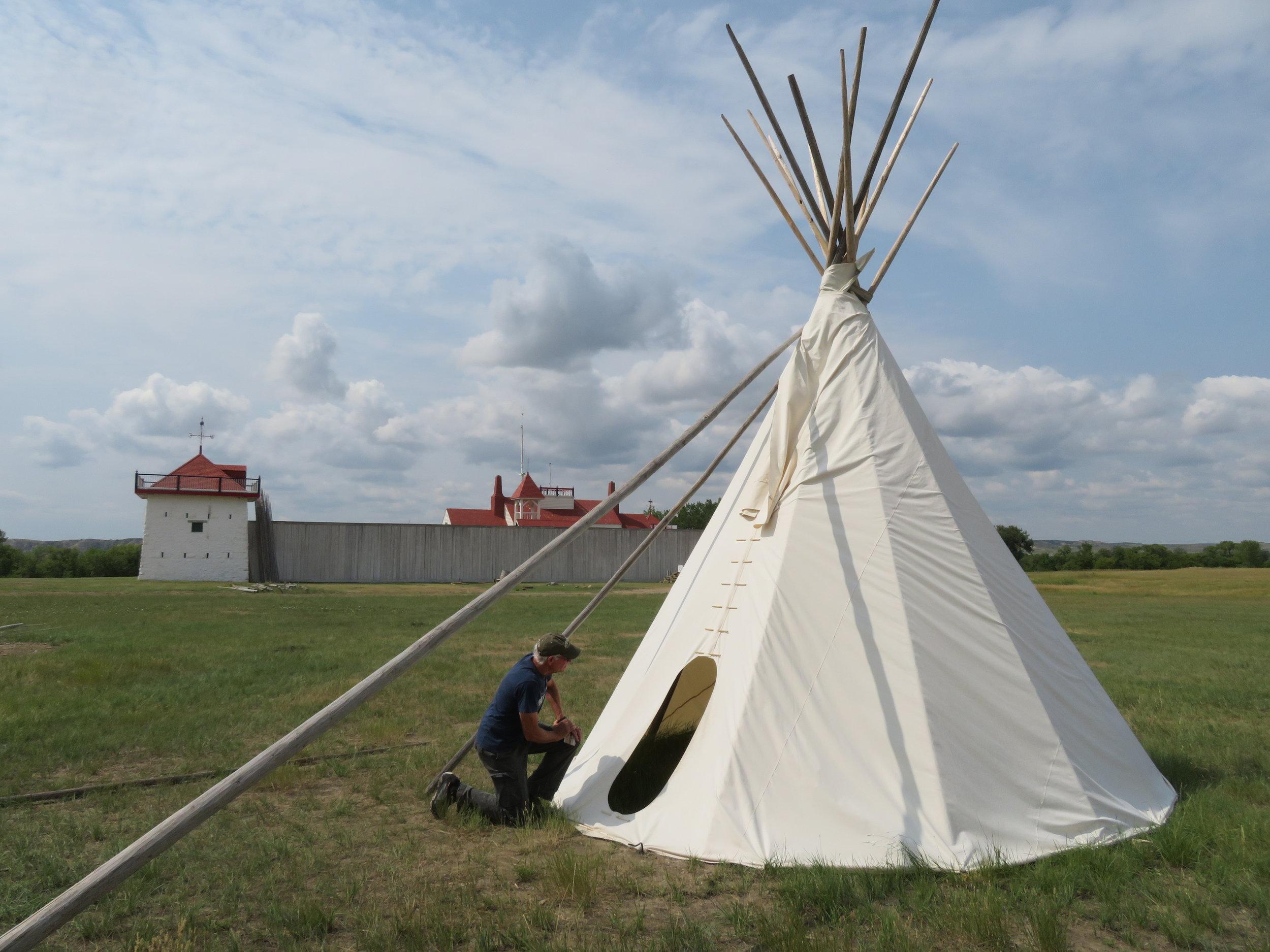 Fort union NHS  - North Dakota - August - 2018