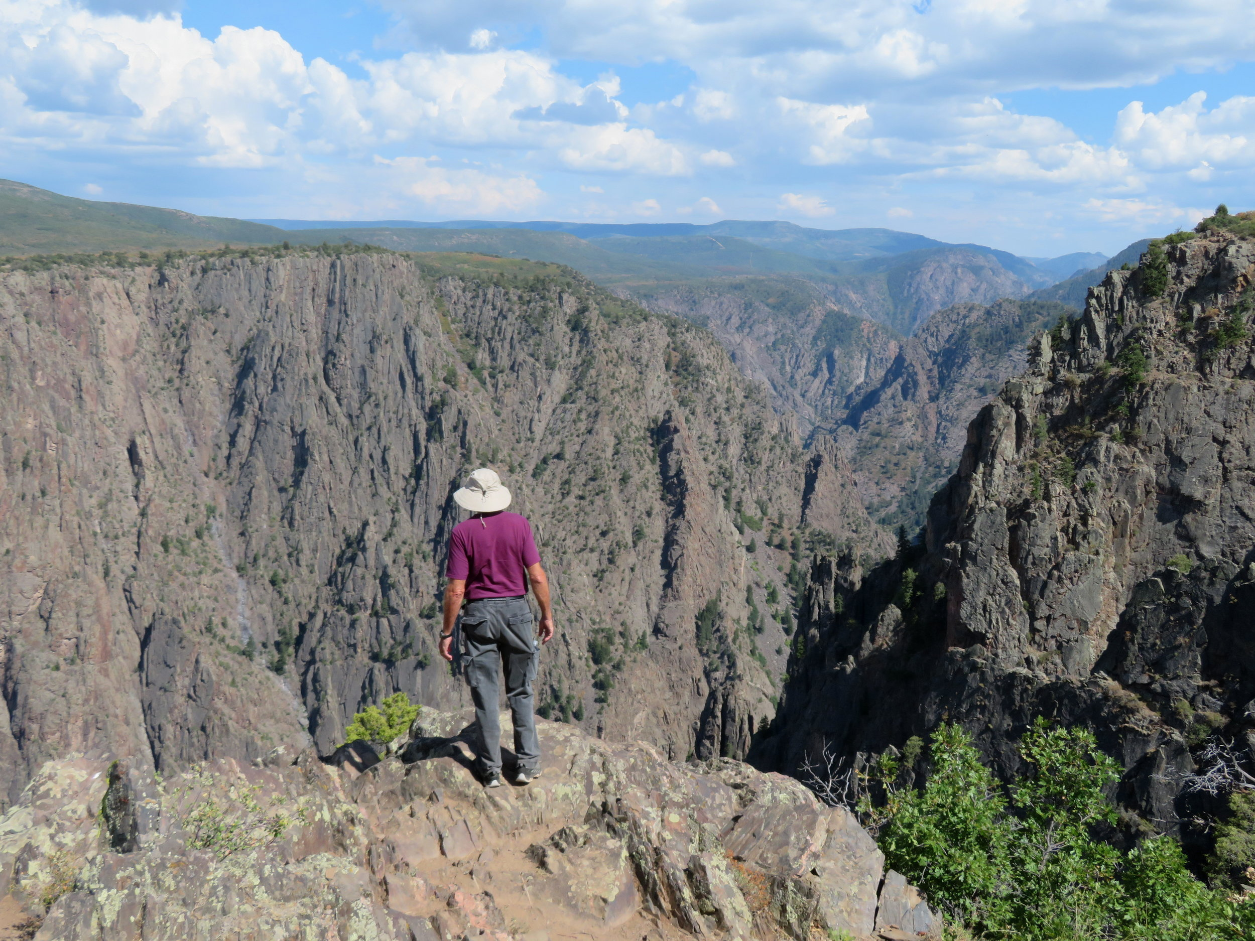 black Canyon of the Gunnison national park  - Colorado - August 2018