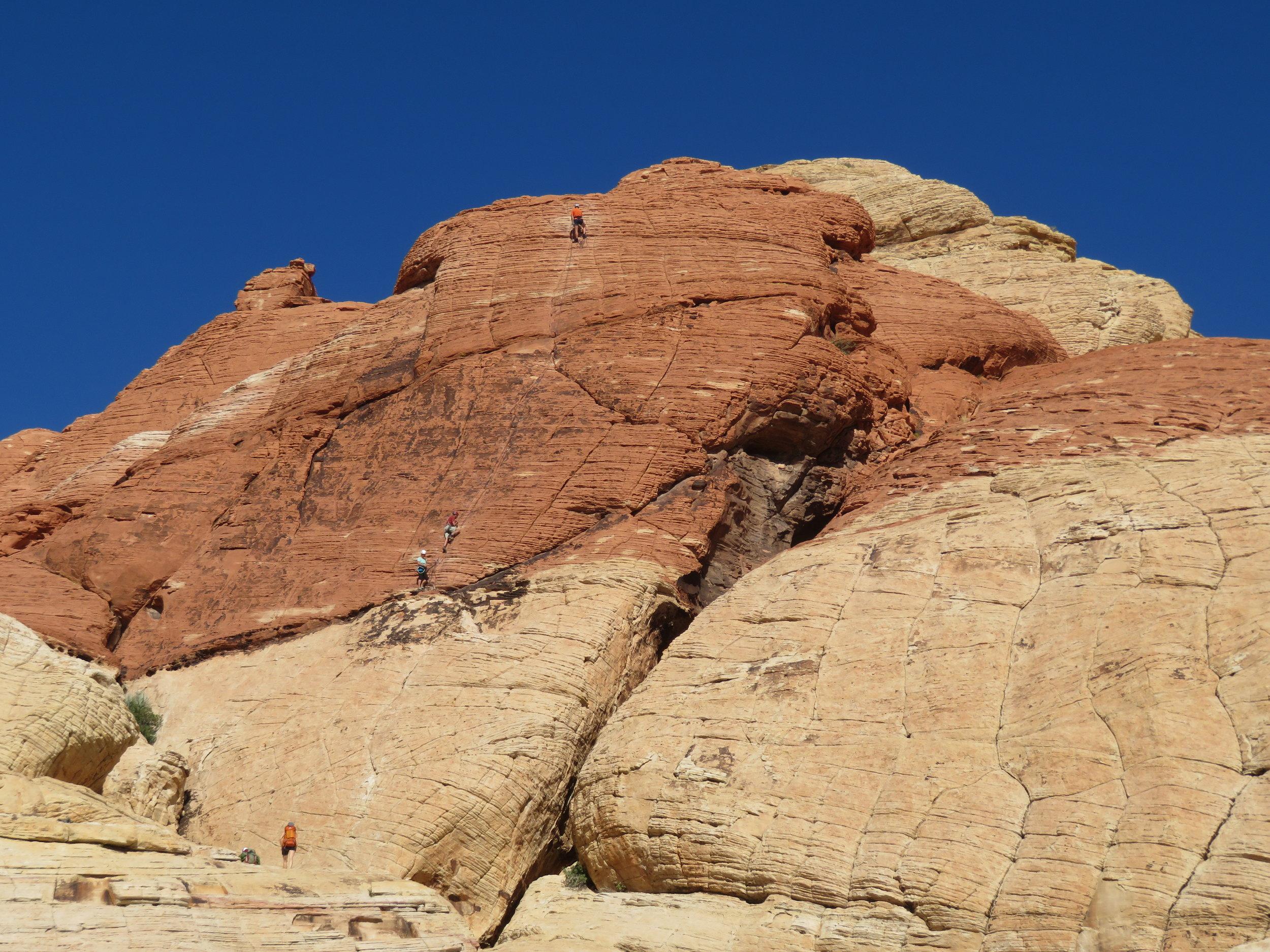 A rock climbers paradise