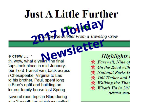 2017 Holiday Newsletter