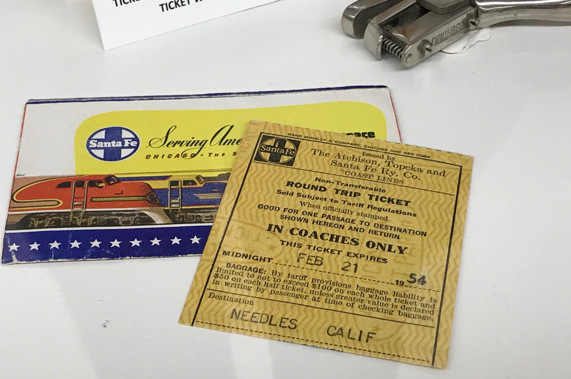 The museum was primarily old railroad memorabilia.