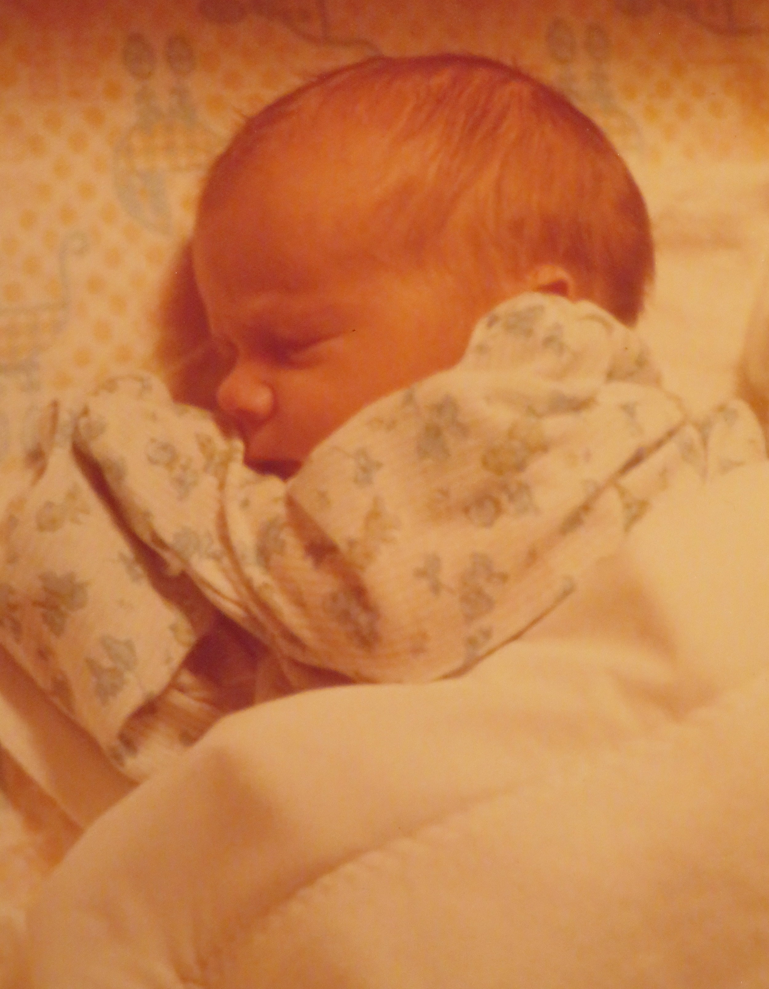 Newborn Brennan - February 1976
